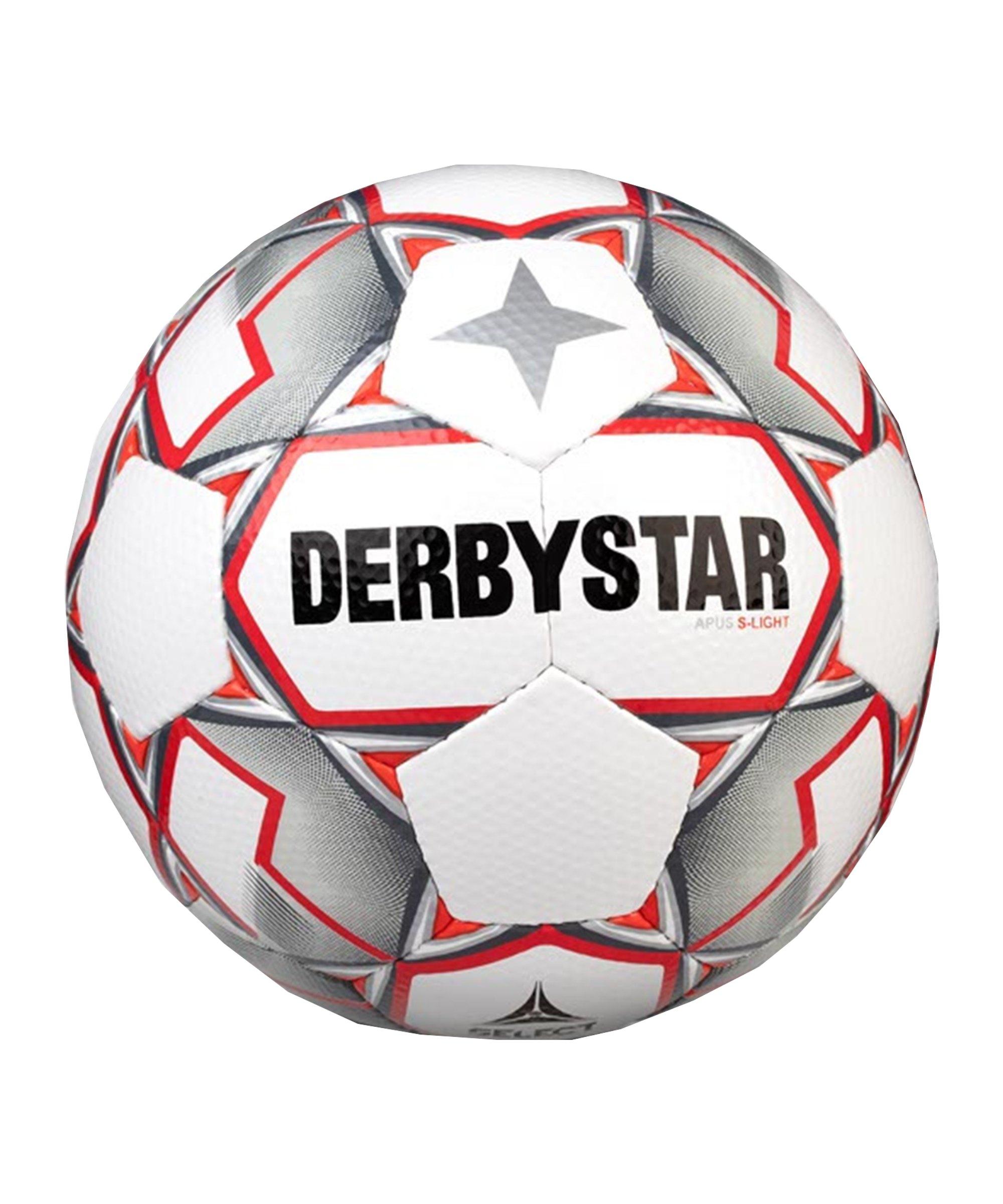 Derbystar Apus S-Light v20 Trainingsball F093 - weiss