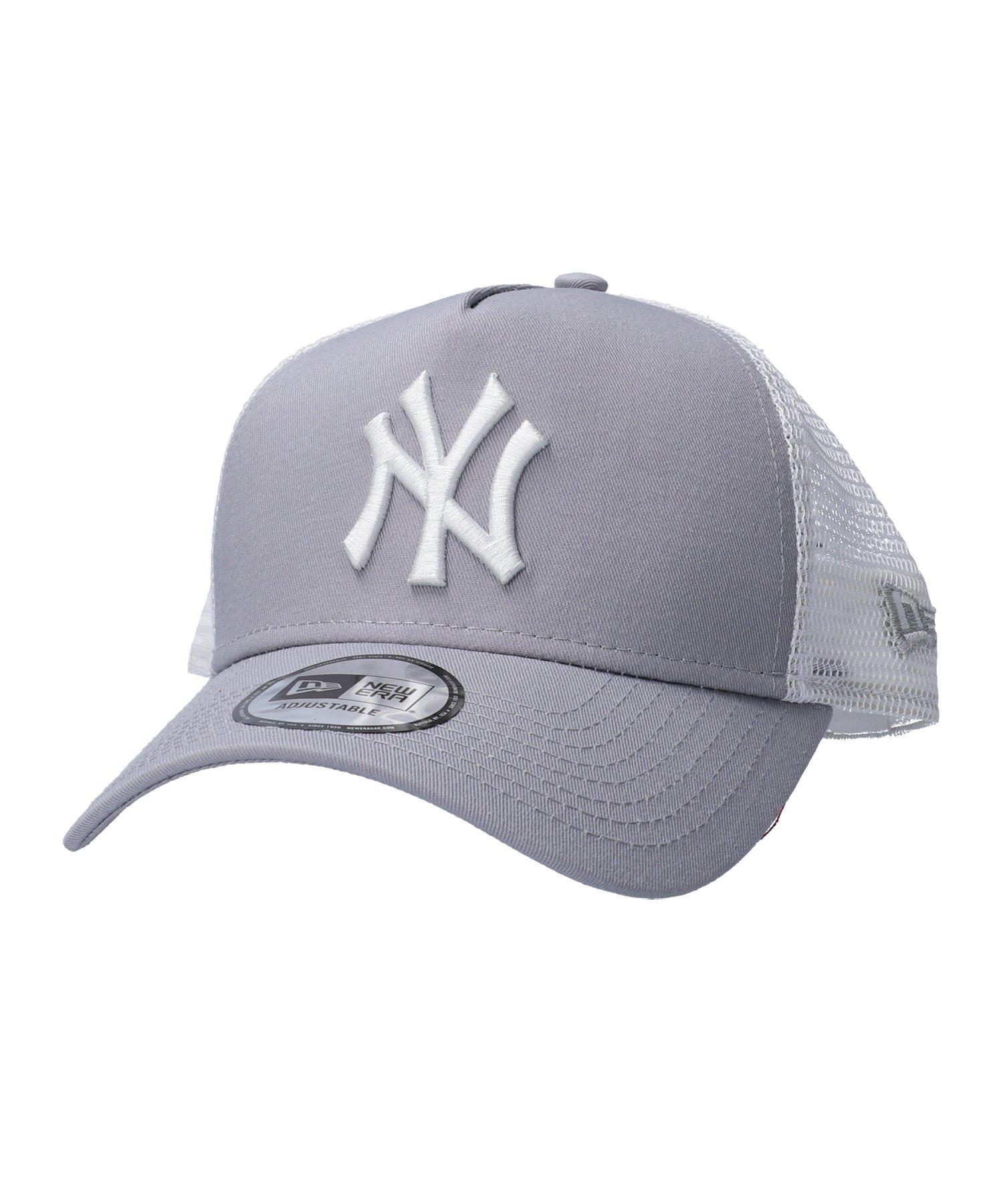 New Era Clean Trucker 2 New York Yankees Cap Grau - grau