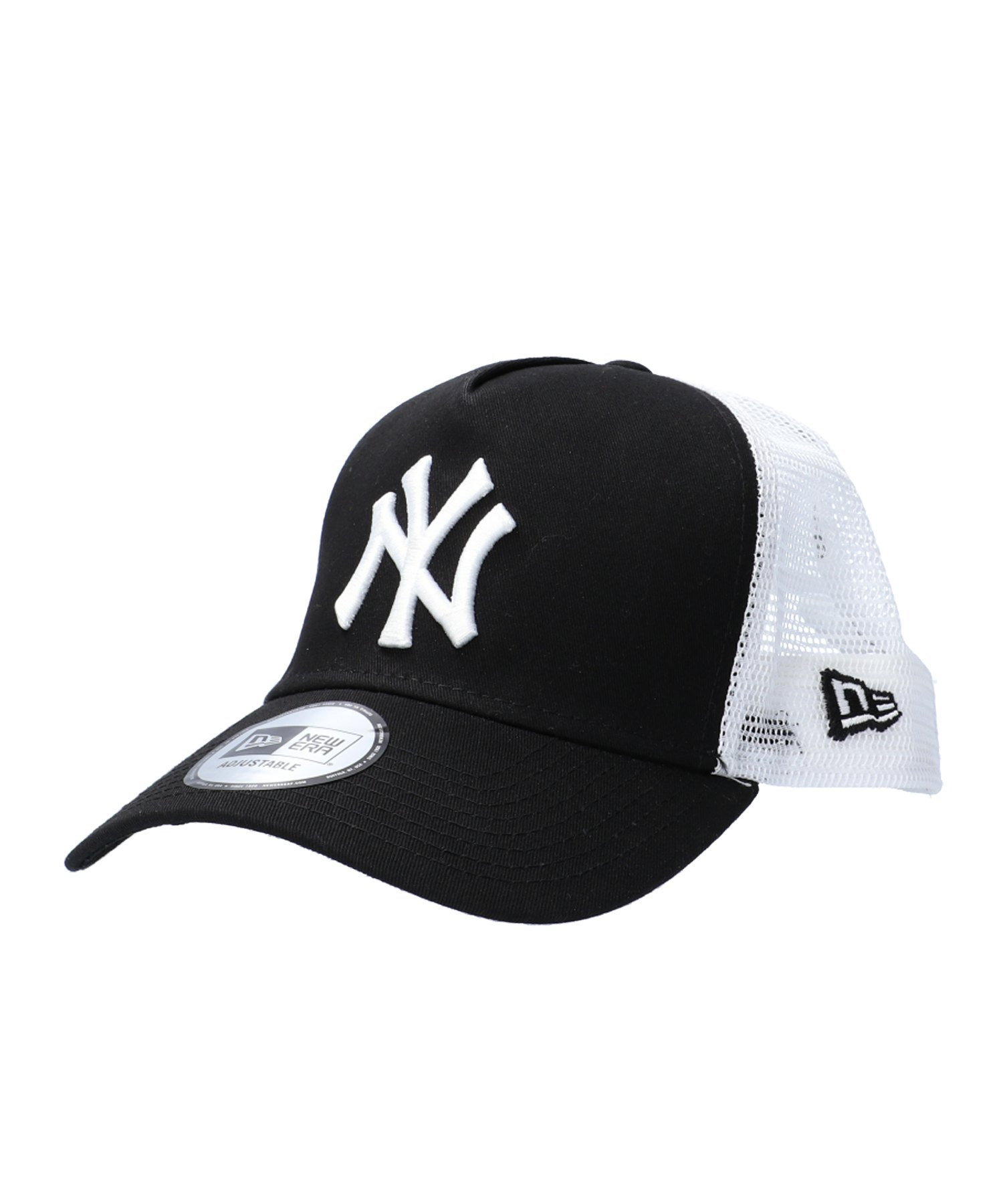 New Era Clean Trucker 2 NY Yankees Cap Schwarz - schwarz