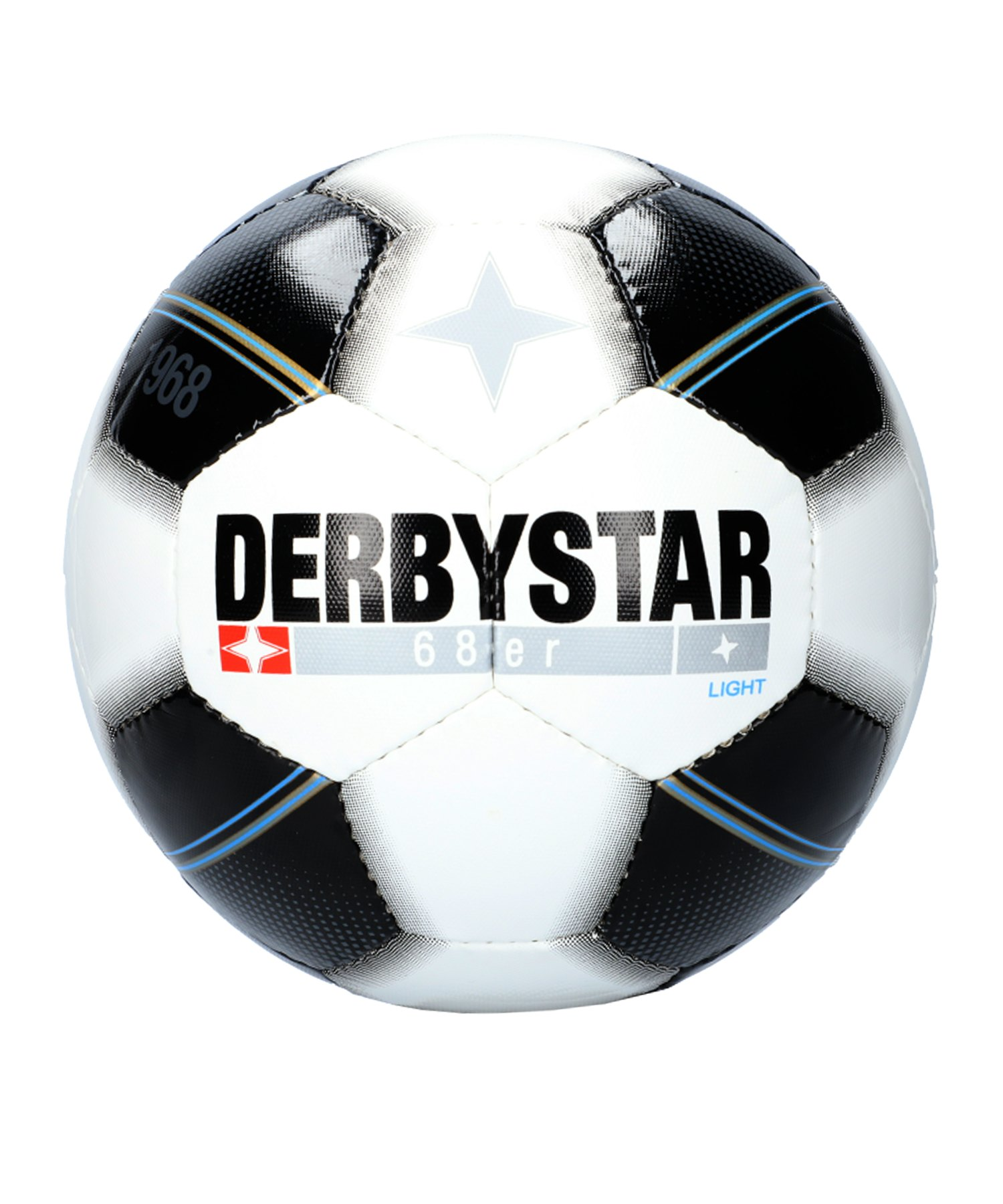 Derbystar 68er Light Fussball F126 - weiss