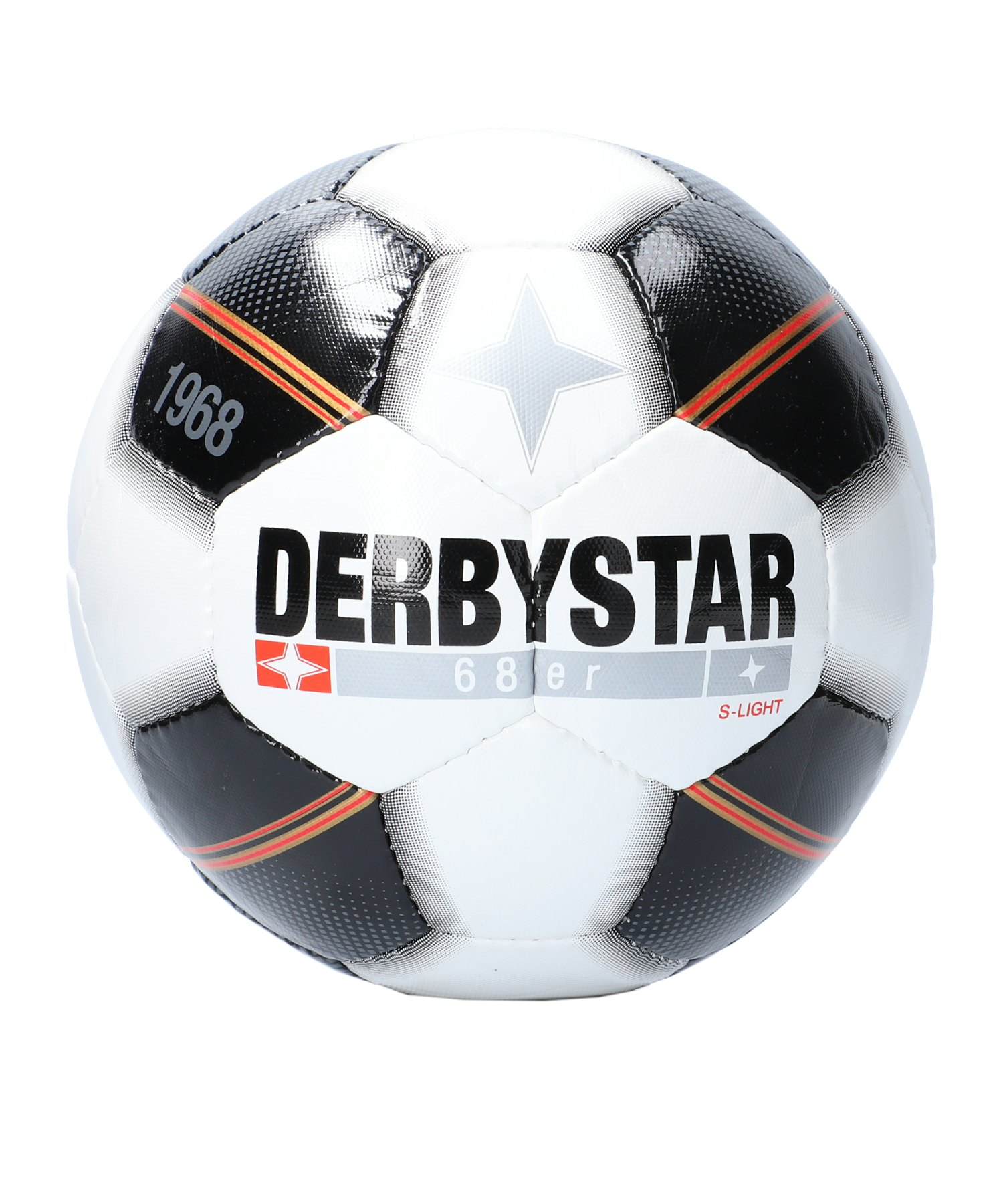 Derbystar 68er S-Light Fussball F123 - weiss