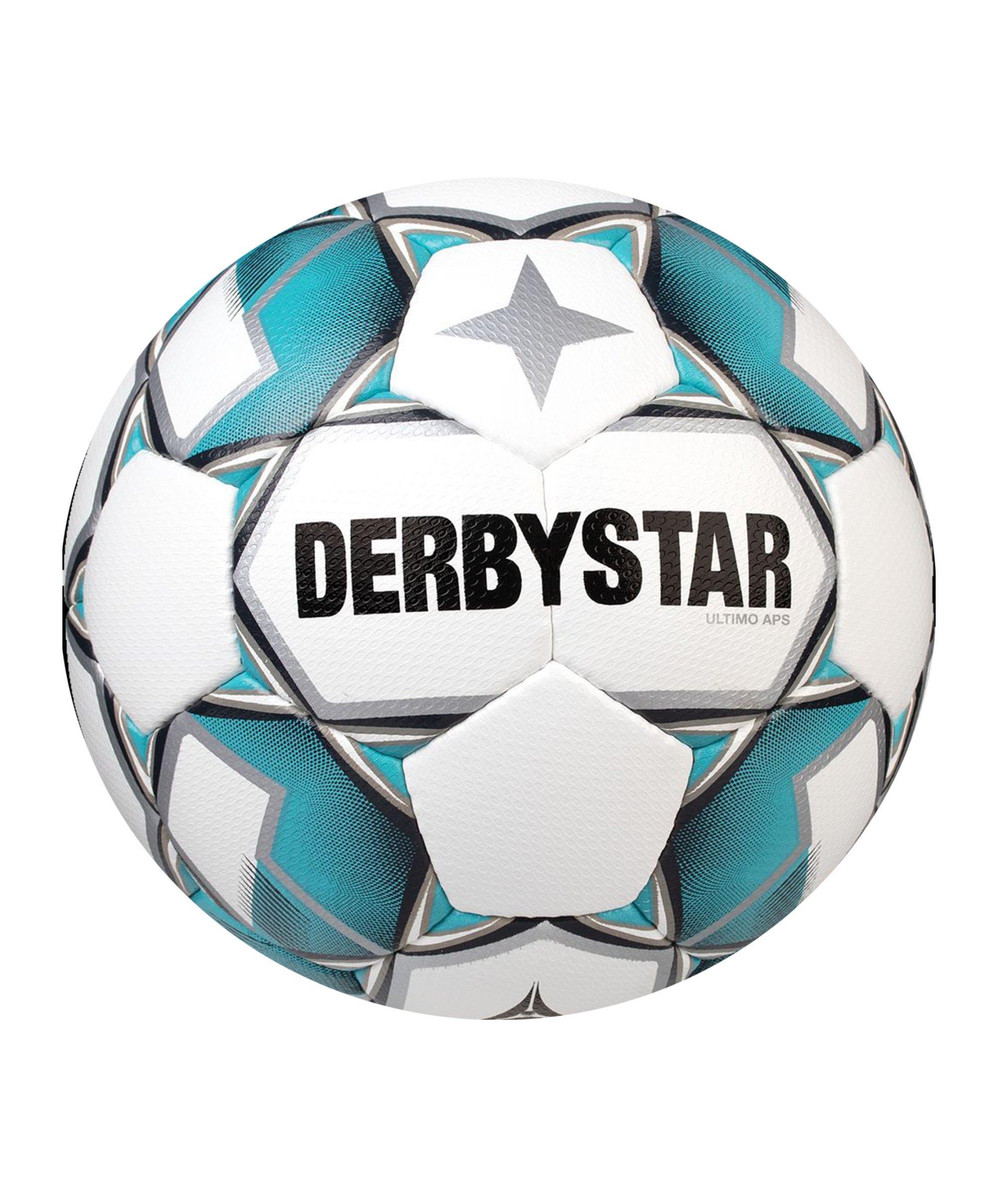Derbystar Ultimo APS V20 Spielball Weiss Blau F169 - weiss