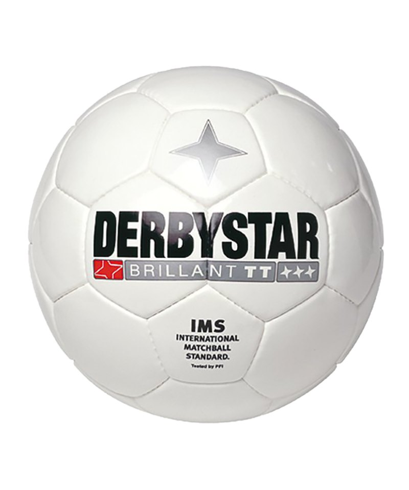Derbystar Trainingsball Brillant TT F100 Weiss - weiss