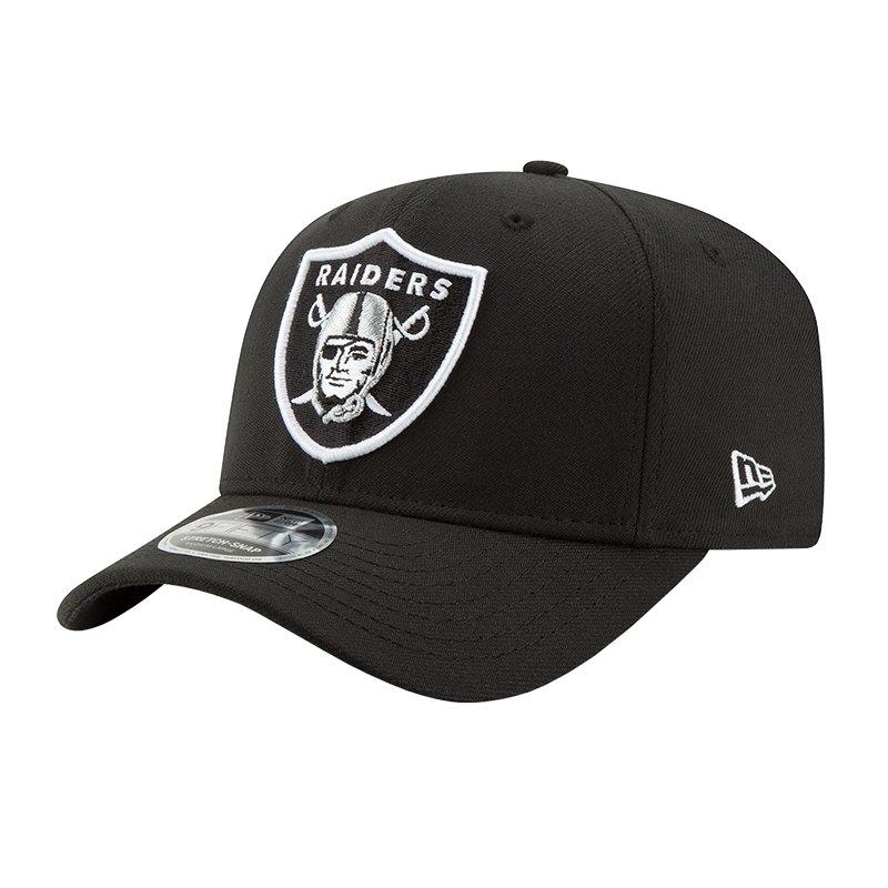 New Era Oakland Raiders NFL 9Fifty Snapback Schwarz - schwarz