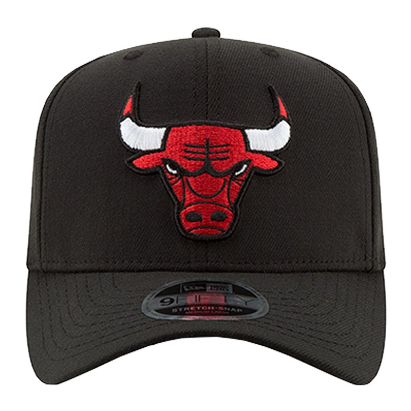 New Era Chicago Bulls NBA 9Fifty Snapback Schwarz - schwarz