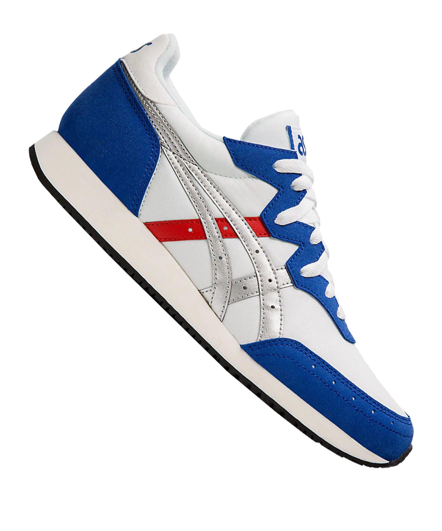 Asics Tarther OG Sneaker Weiss Blau F101 - weiss