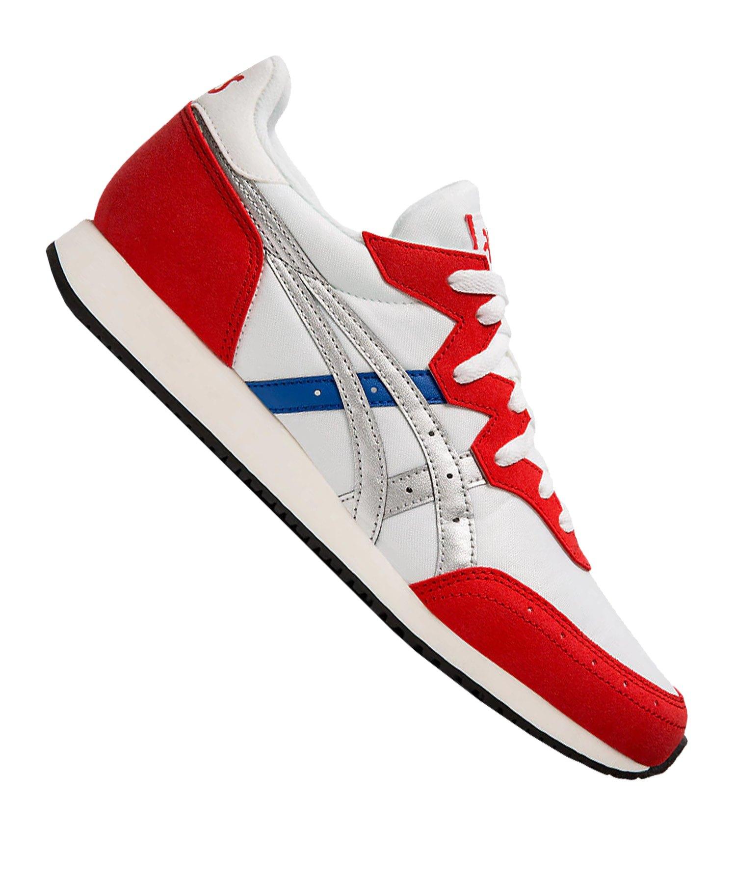 Asics Tarther OG Sneaker Weiss Rot F100 - weiss