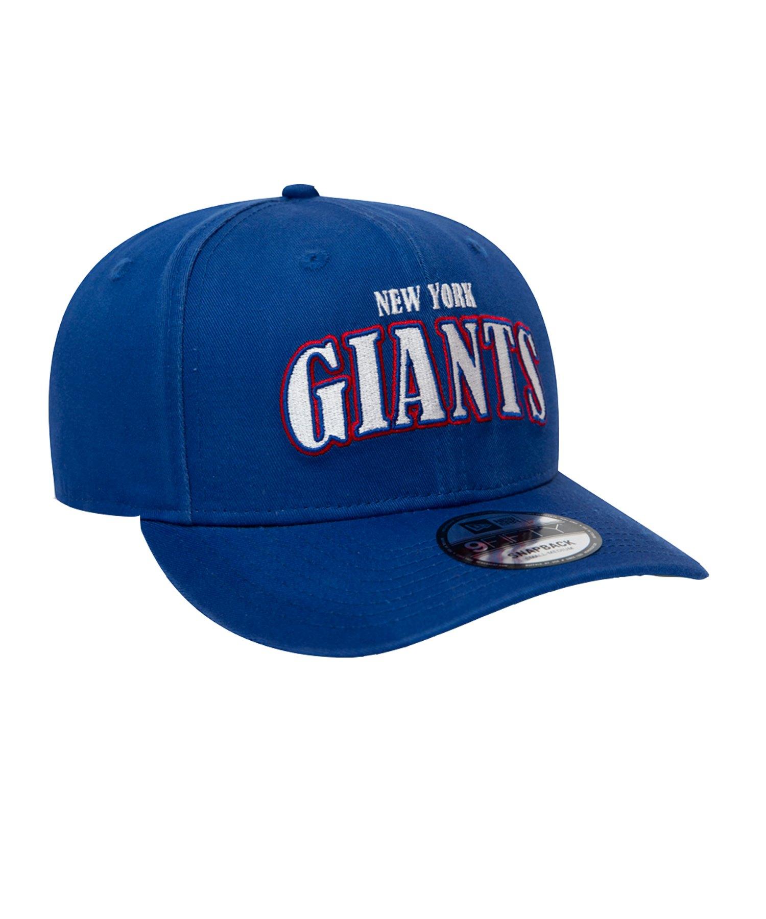 New Era New York Giants NFL 9Fifty OTC Blau - blau