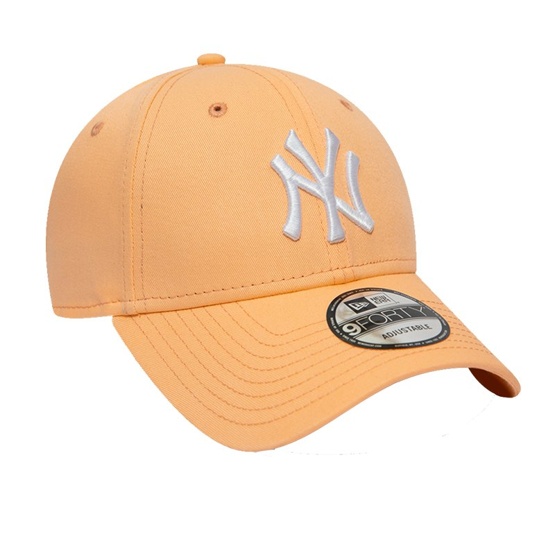 New Era NY Yankees 9Forty Essential Cap Orange - orange