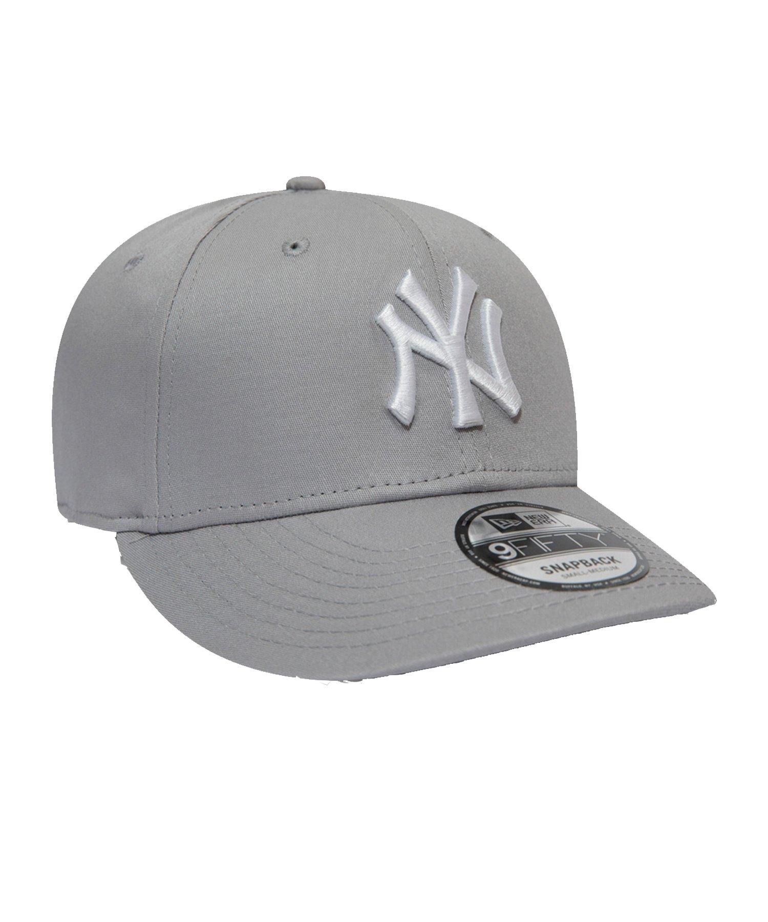 New Era NY Yankees 9Fifty Cap Grau - grau