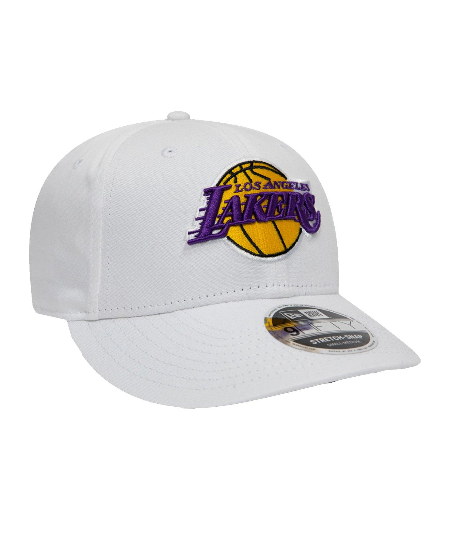 New Era LA Lakers 9Fifty Cap Weiss - weiss