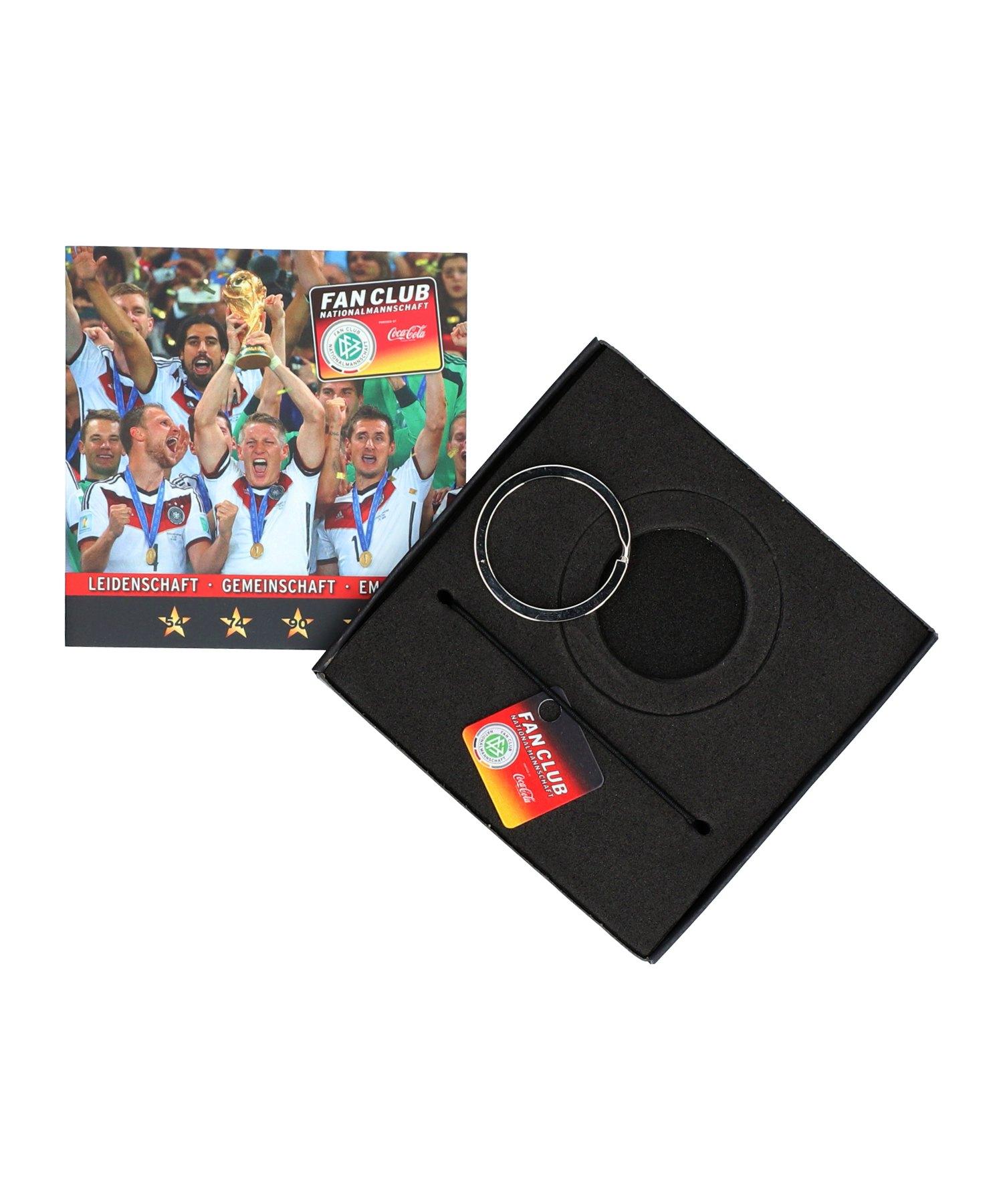 DFB Deutschland Fan Club Schlüsselanhänger Schwarz - schwarz