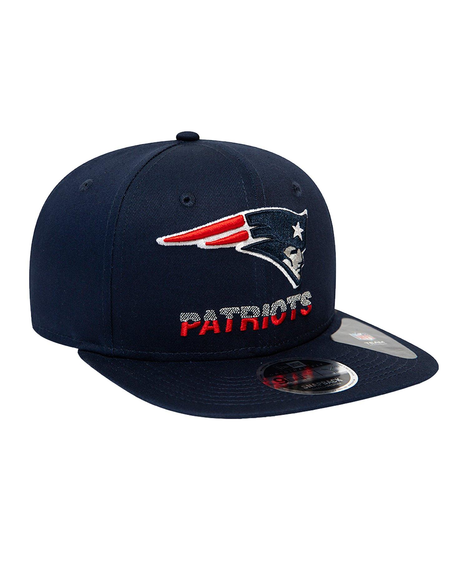New Era NFL New England Patriots 9Fifty Cap Blau - blau