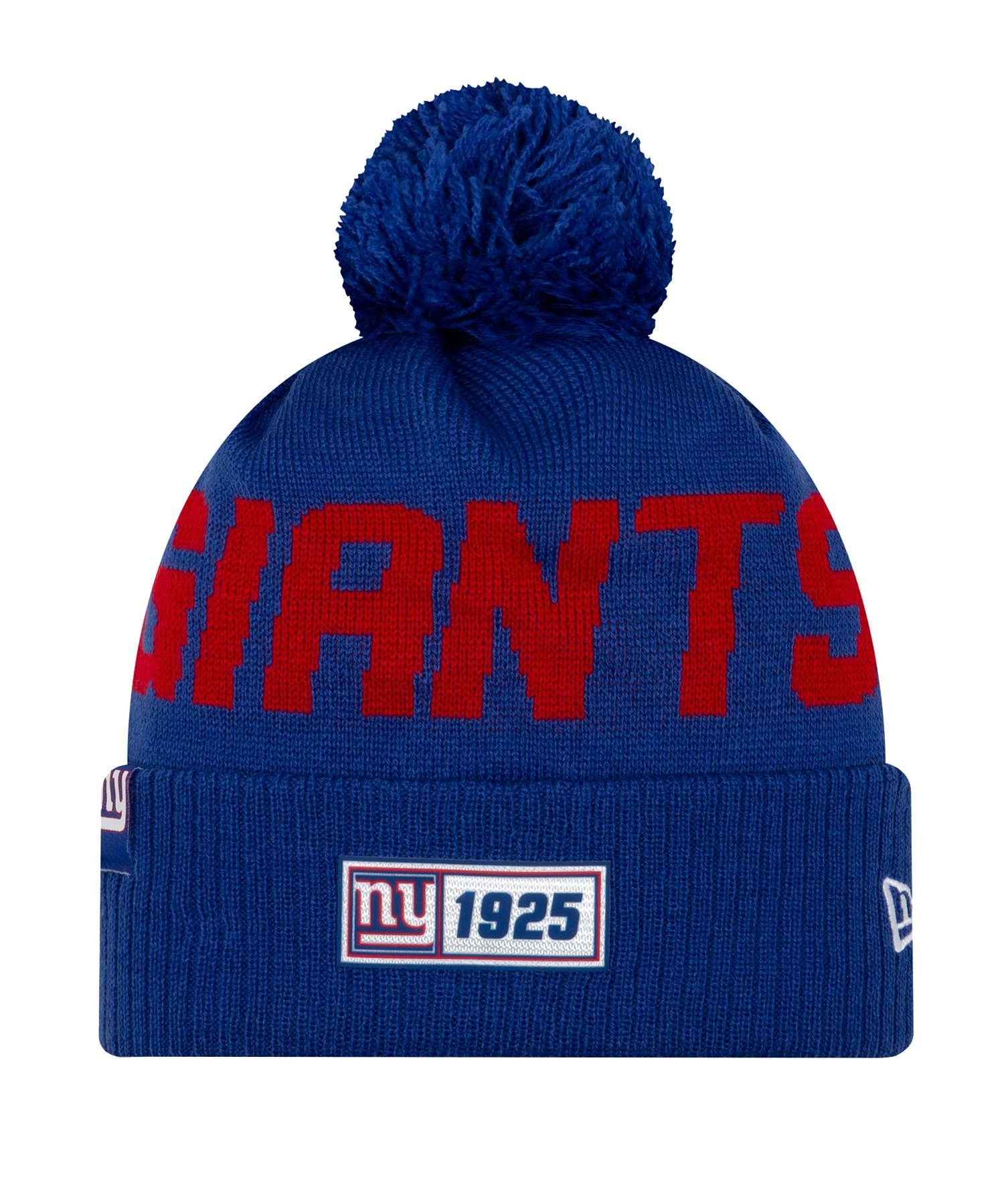 New Era New York Giants RD Strickmütze Blau - blau