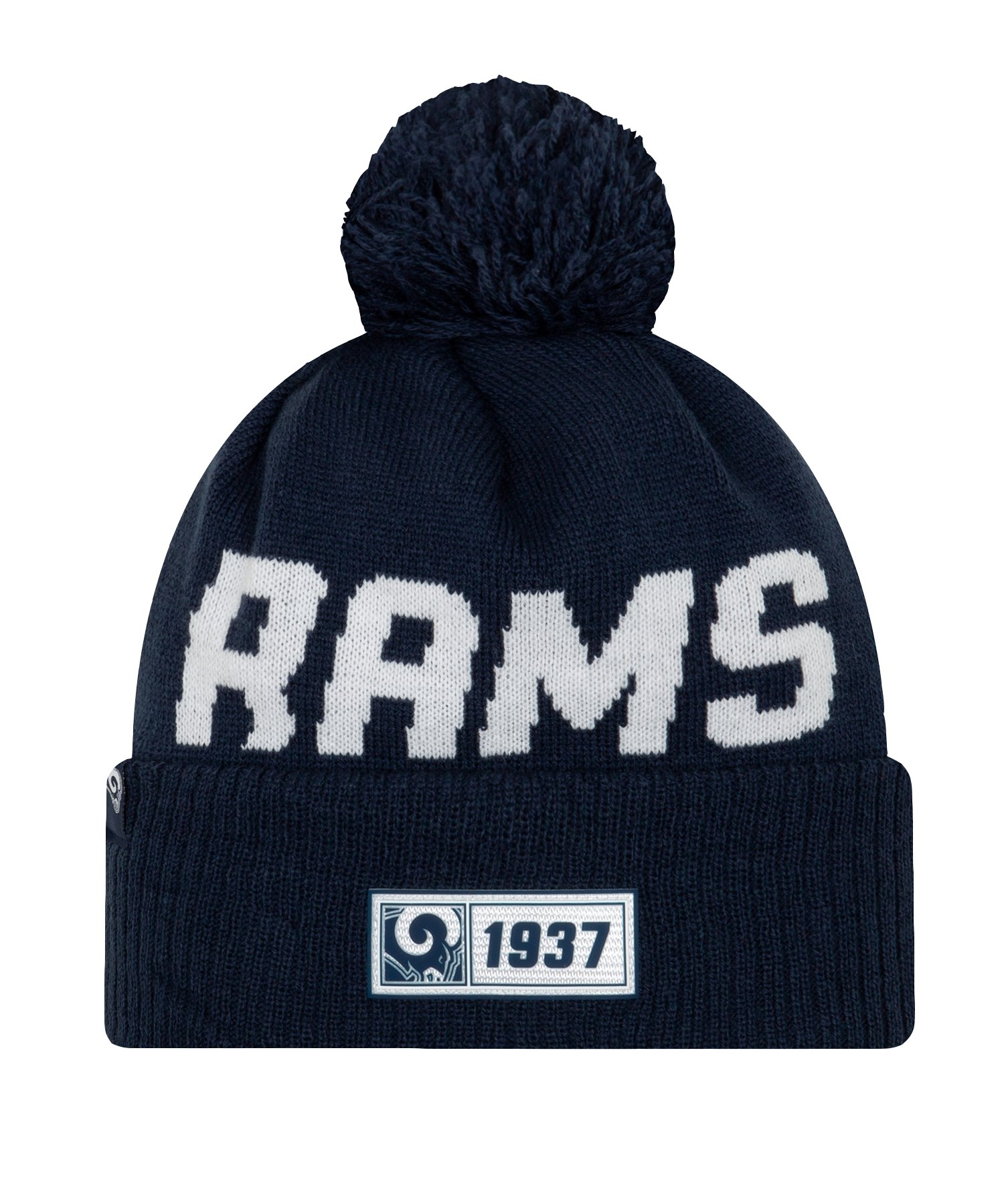 New Era Los Angeles Rams RD Strickmütze Blau - blau
