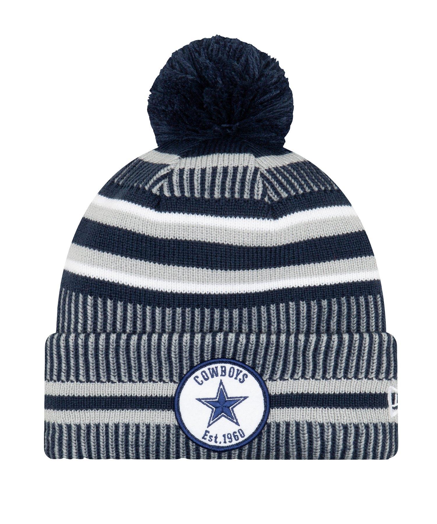 New Era Dallas Cowboys HM Strickmütze Blau - blau