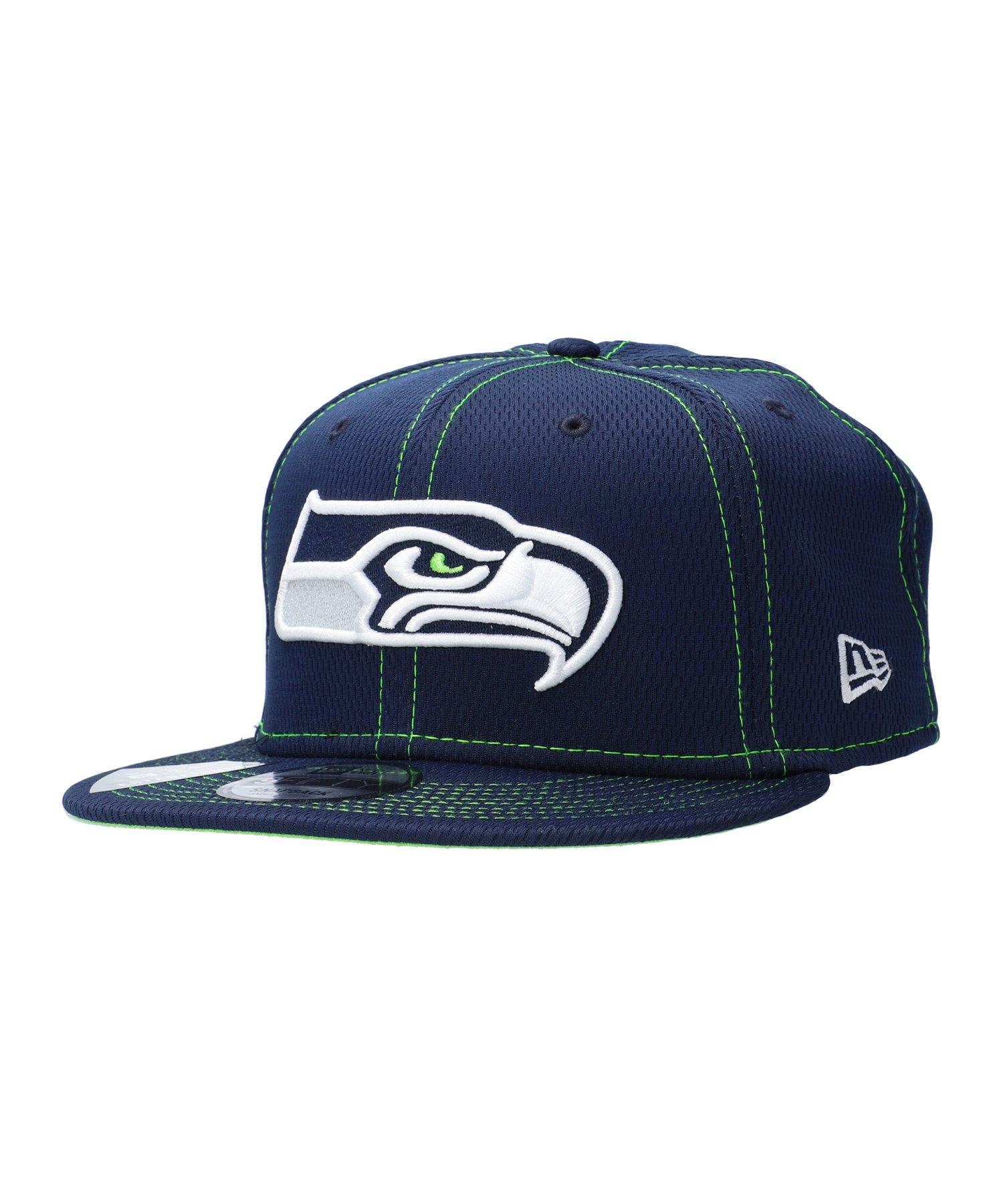 New Era NFL Seattle Seahawks 9Fifty OTC Cap Blau - blau