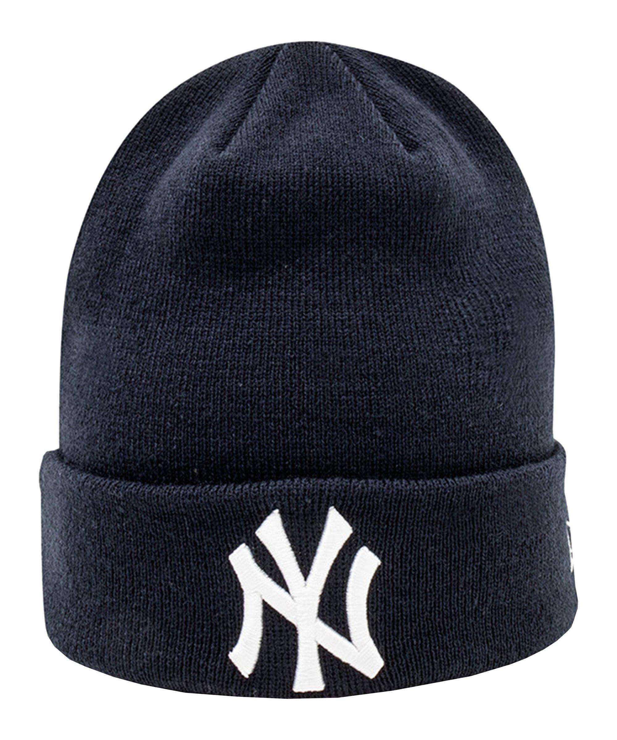 New Era NY Yankees Cuff Knit Beanie Blau FOTC - blau