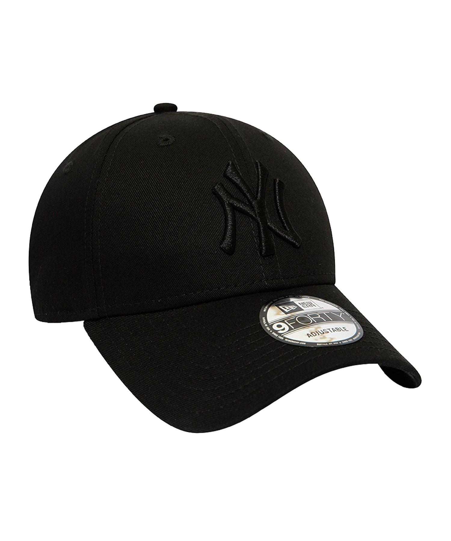New Era NY Yankees 9Forty Snapback Schwarz - schwarz