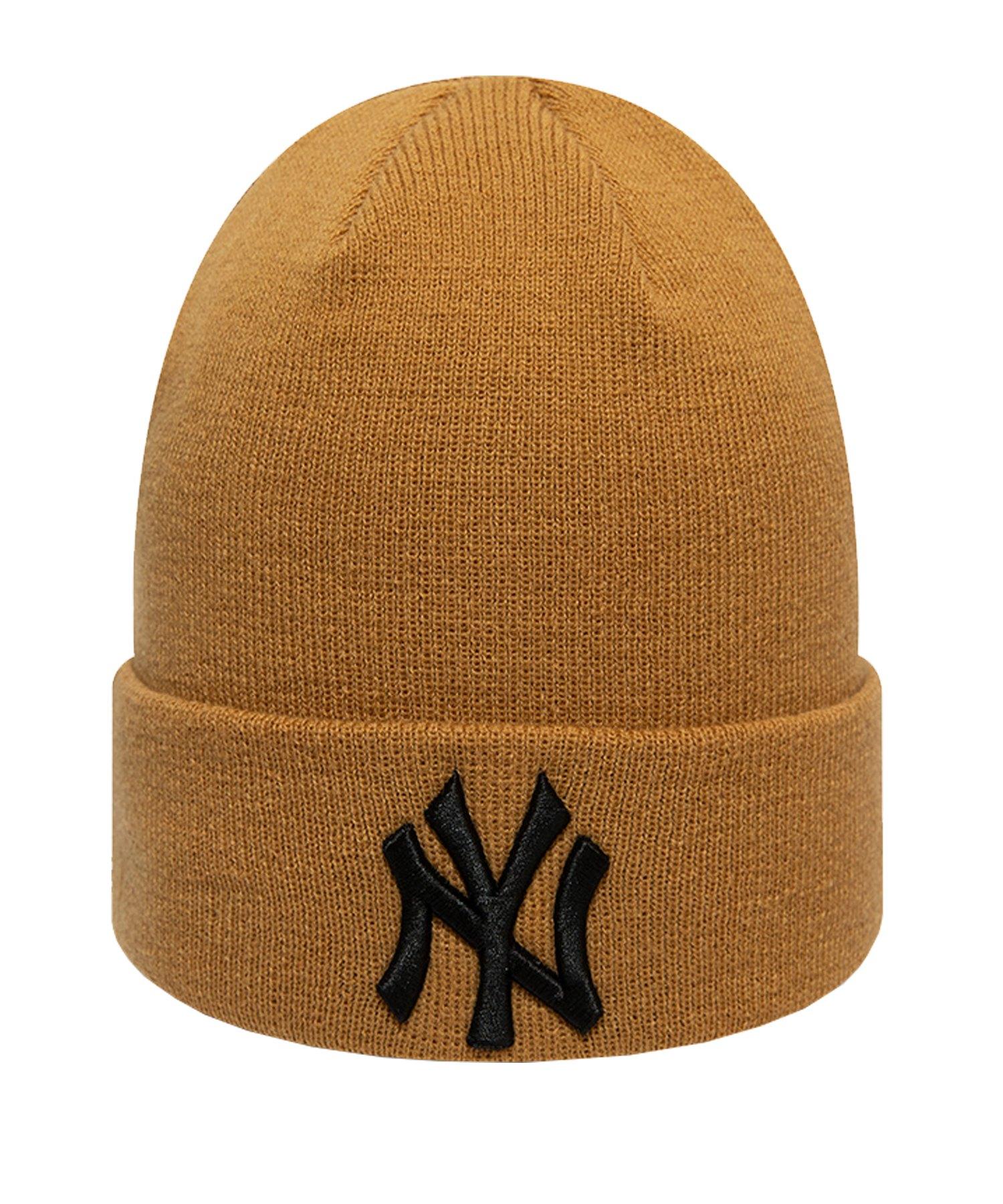 New Era NY Yankees Beanie Cap Braun - braun