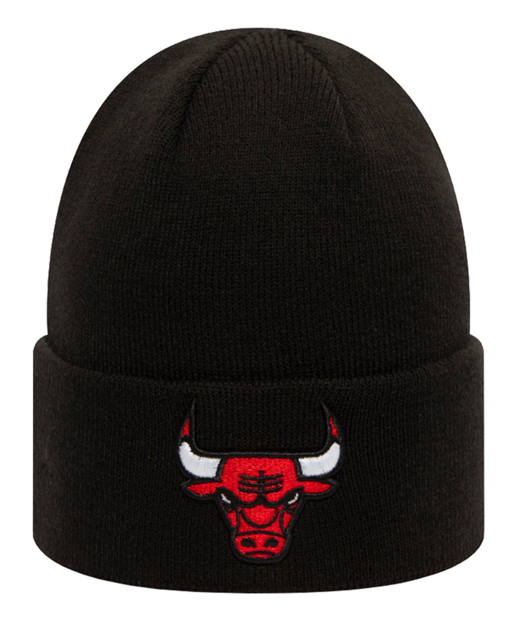 New Era Chicago Bulls Essential Cuff Schwarz - schwarz