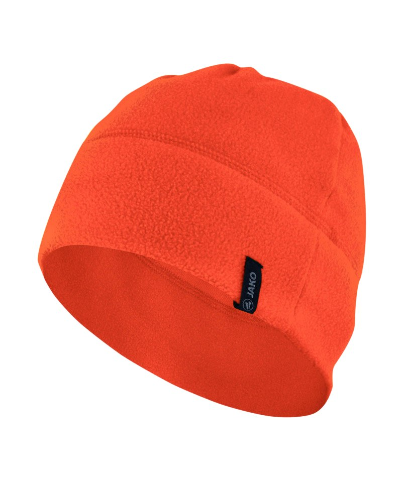 Jako Fleecemütze 2.0 Orange F19 - orange