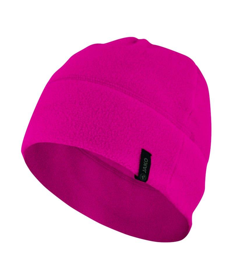 Jako Fleecemütze 2.0 Pink F65 - pink