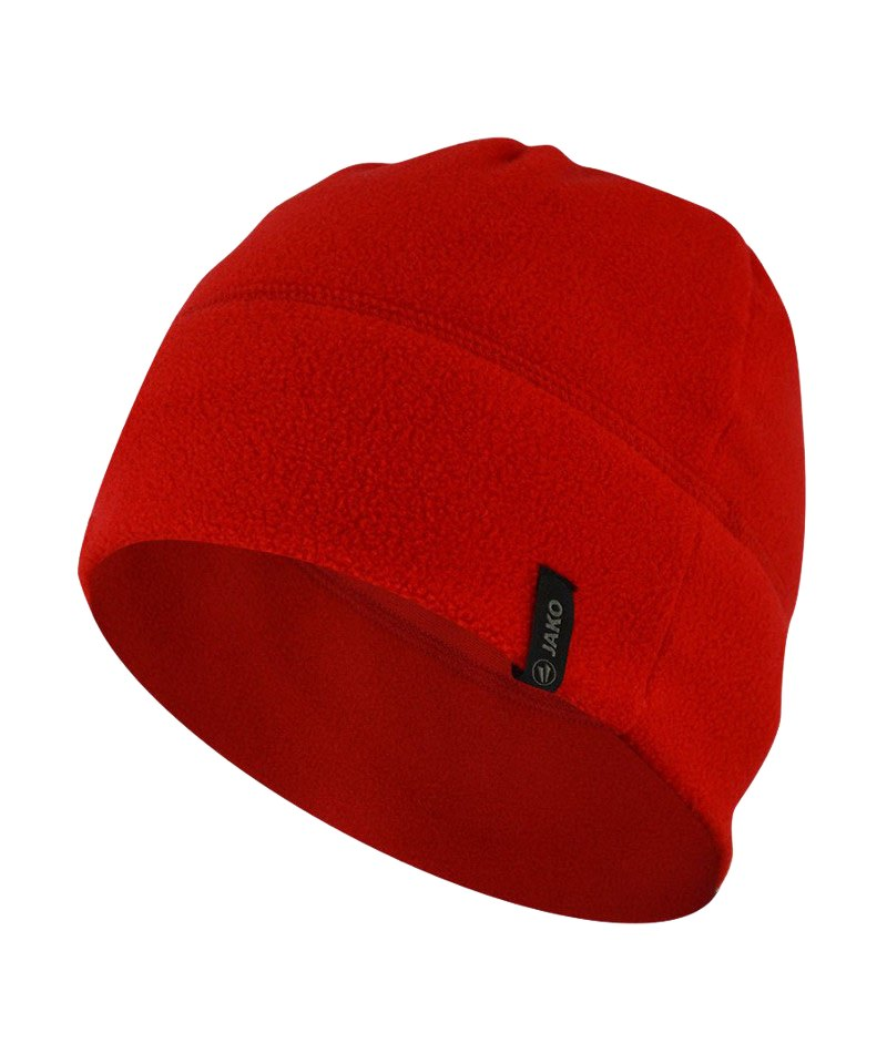 Jako Fleecemütze 2.0 Rot F01 - rot
