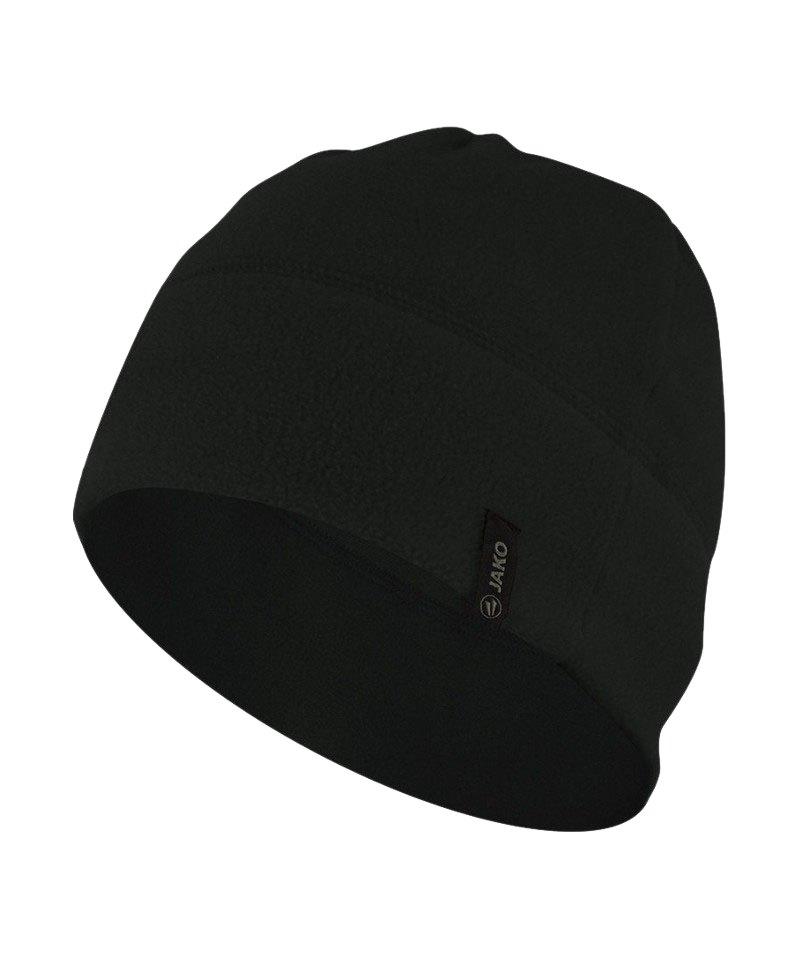 Jako Fleecemütze 2.0 Schwarz F08 - schwarz