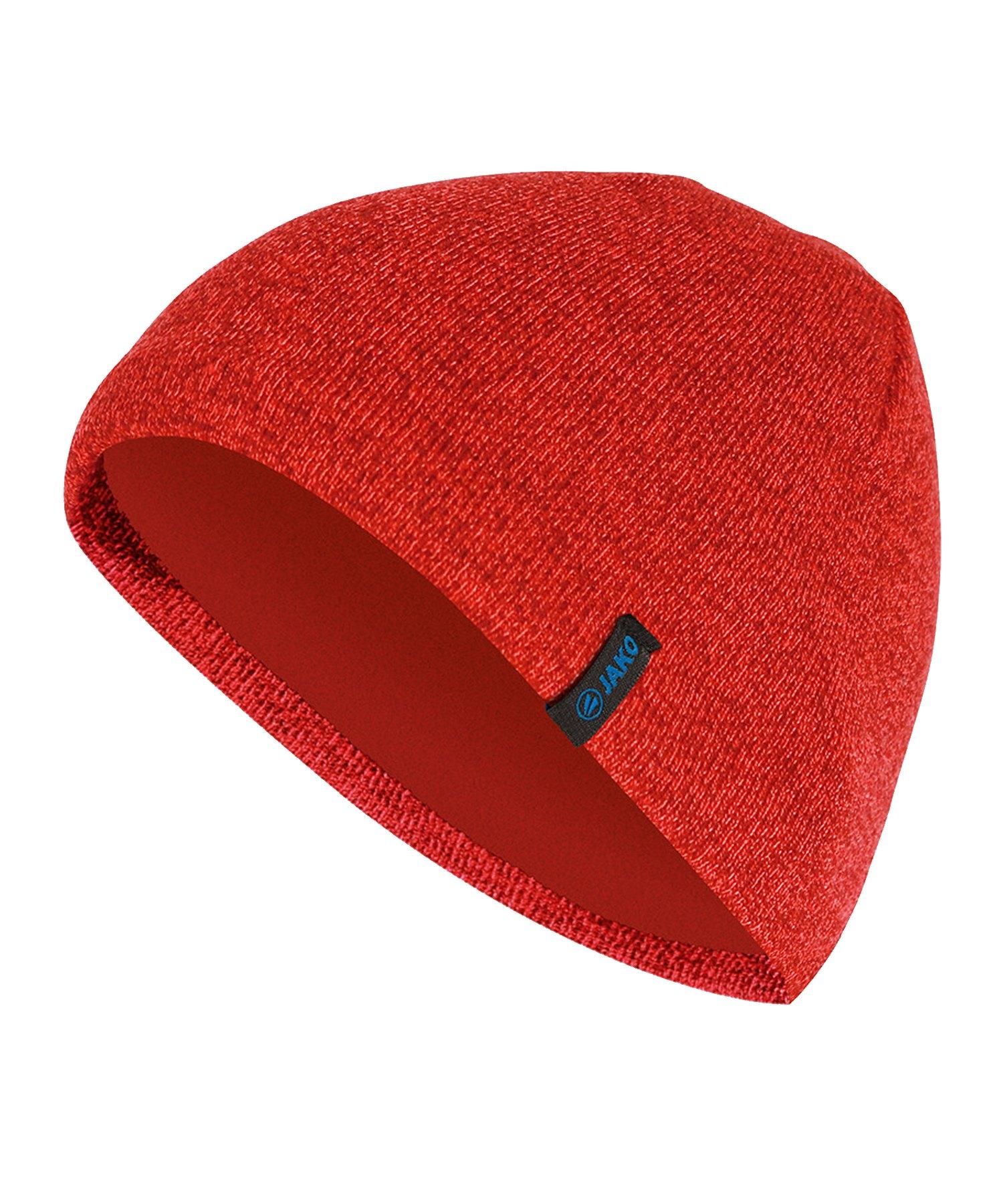 Jako Strickmütze Rot F01 - rot