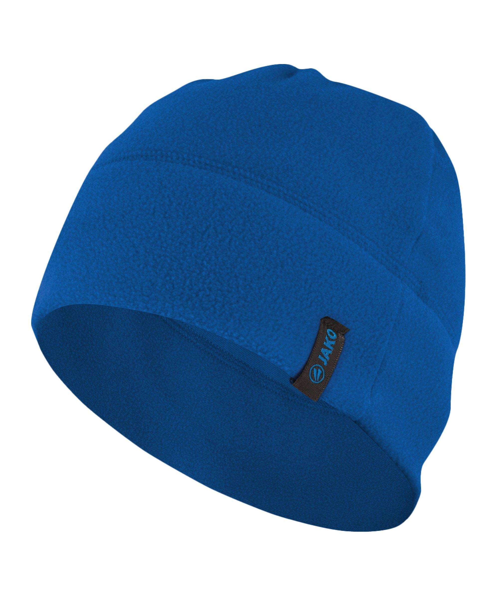 Jako Fleecemütze Blau F04 - blau