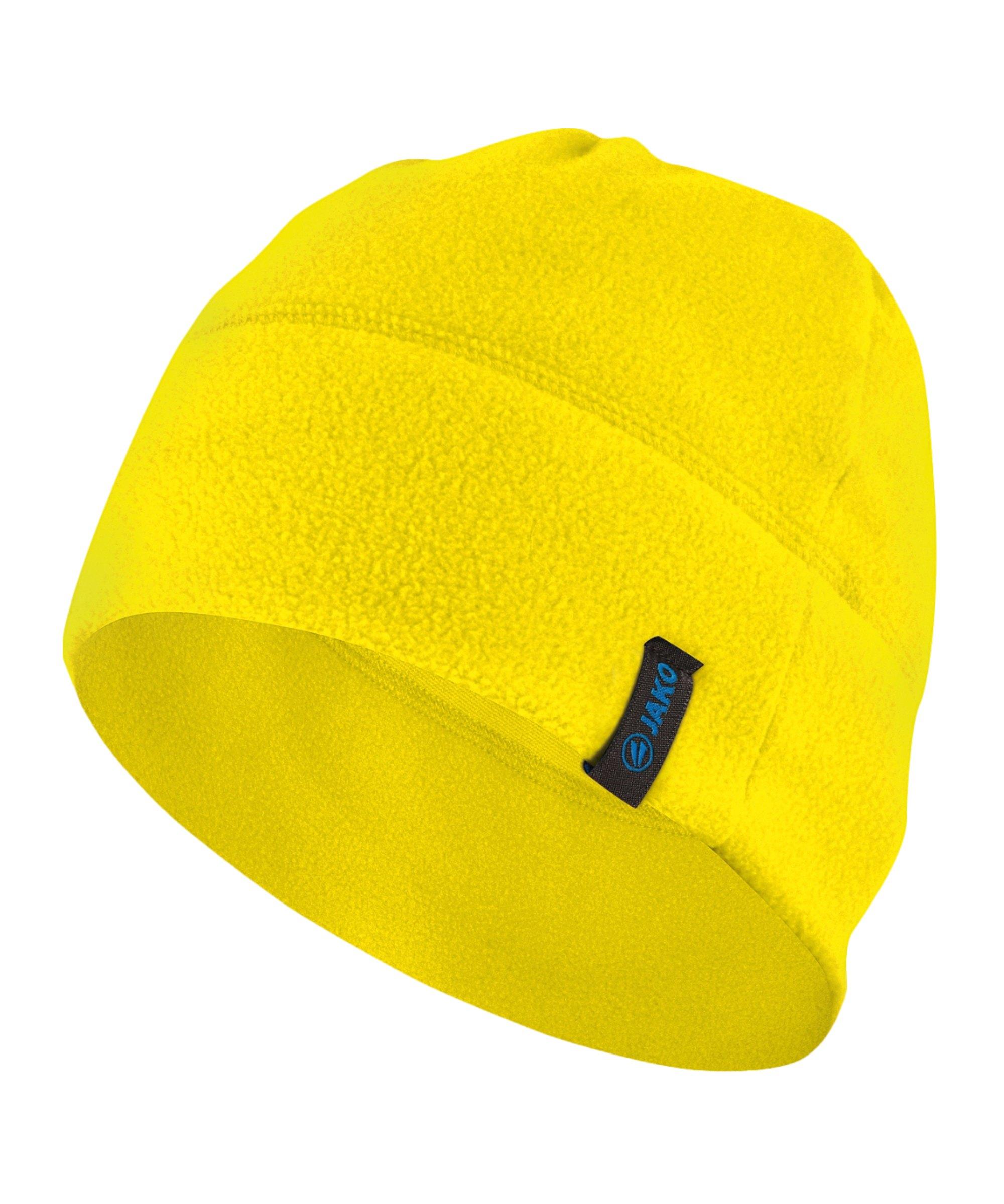 Jako Fleecemütze Gelb F03 - gelb