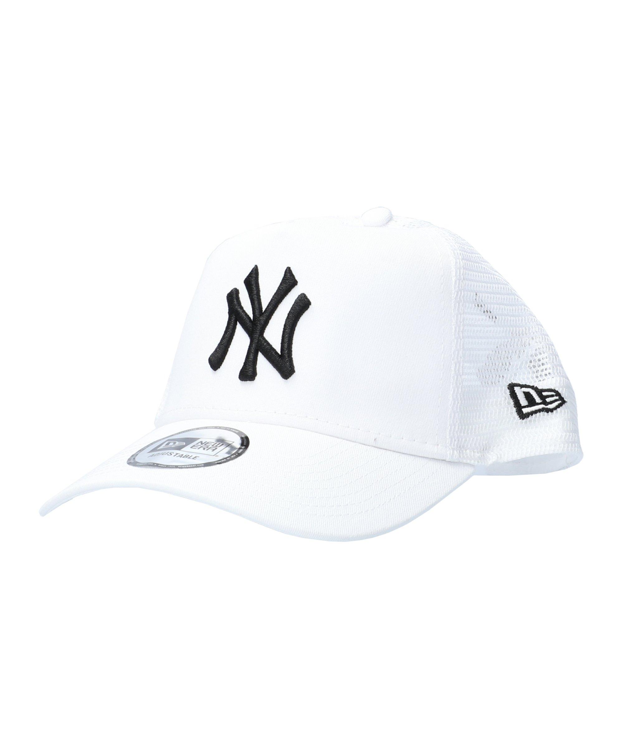 New Era NY Yankees Ess. AF Trucker Cap Weiss FWHI - violett