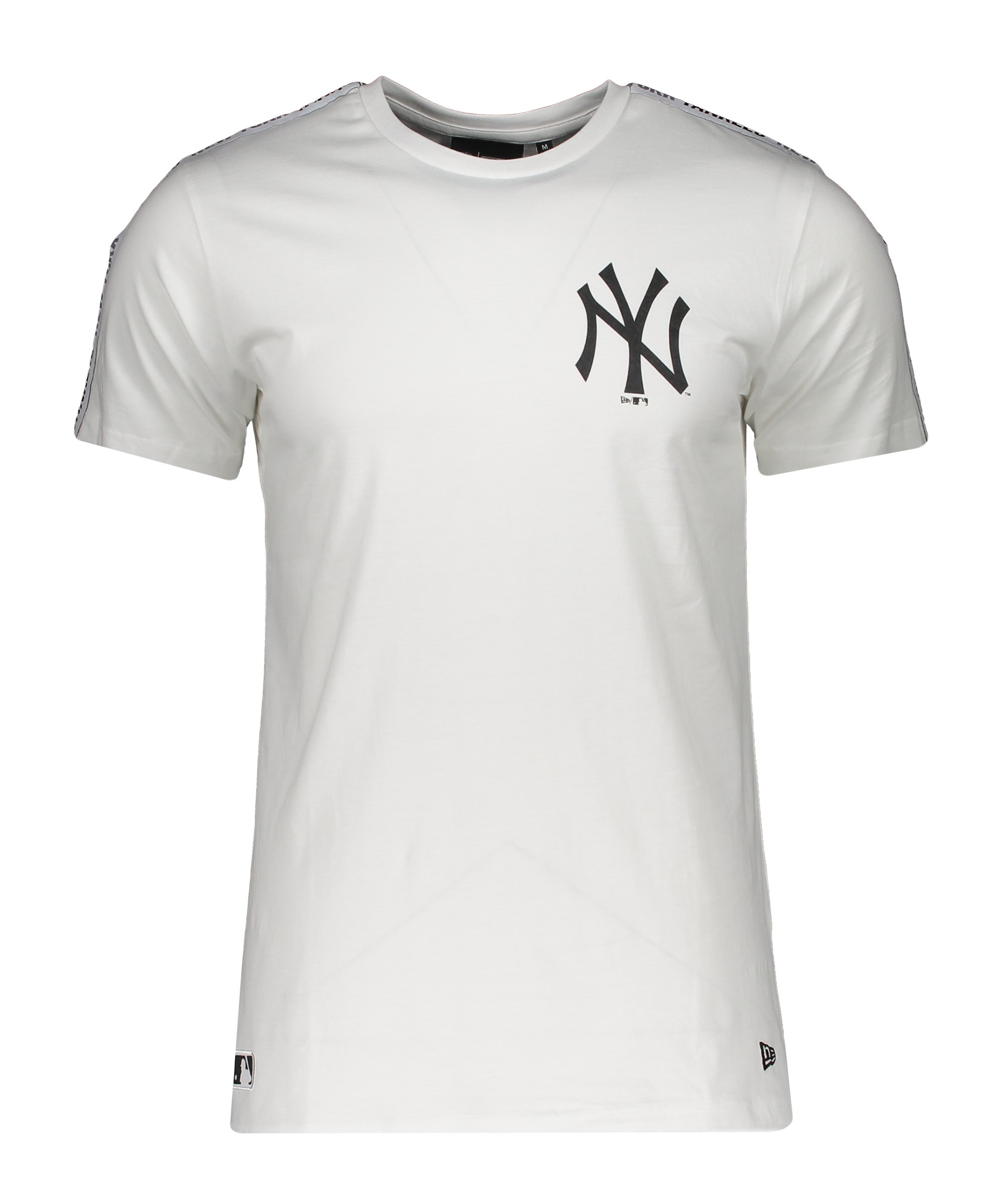 New Era NY Yankees MLB Taping T-Shirt Weiss FWHI - weiss