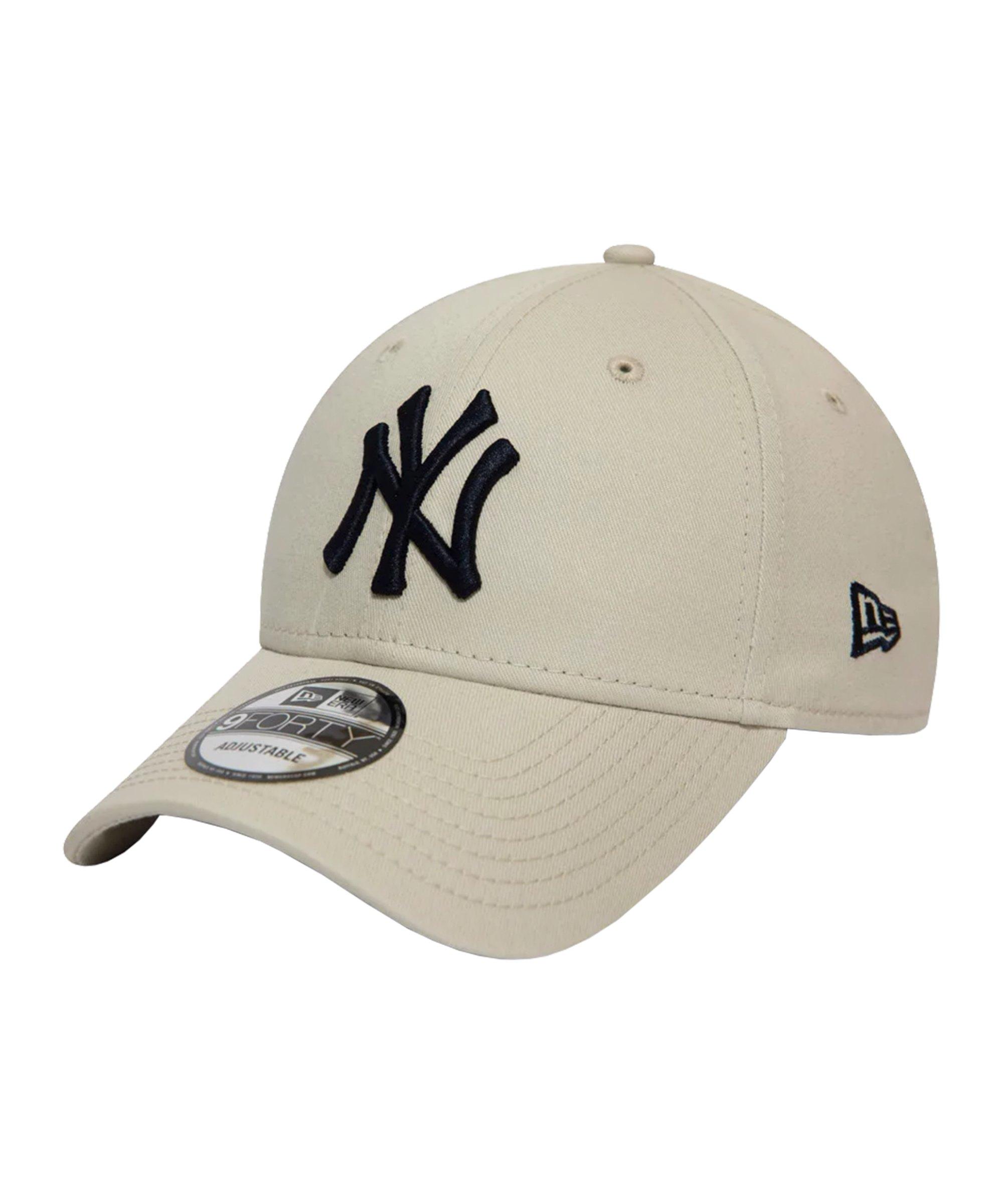 New Era NY Yankees League Ess. 9Forty Cap FSTN - beige