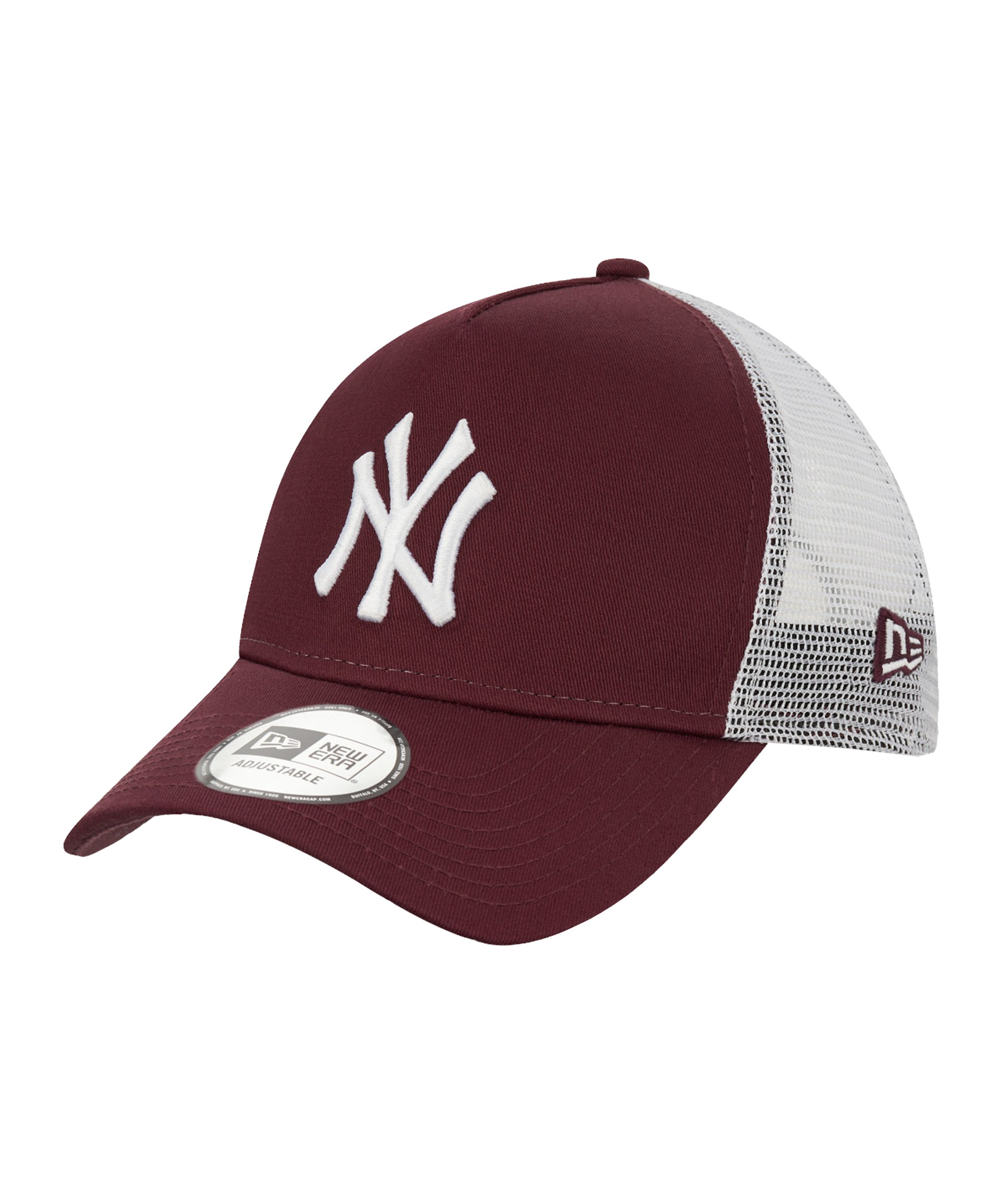 New Era NY Yankees Ess. AF Trucker Cap FMRNWHI - rot