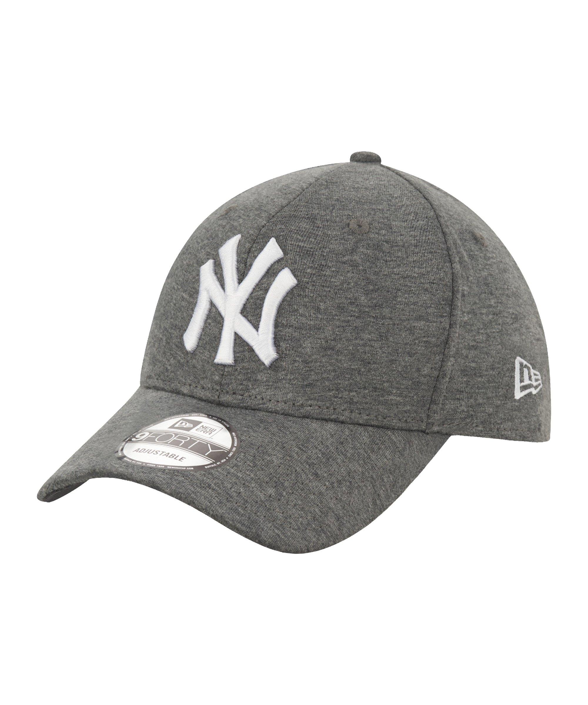New Era NY Yankees Yersey 9Forty Cap FGRHWHI - grau