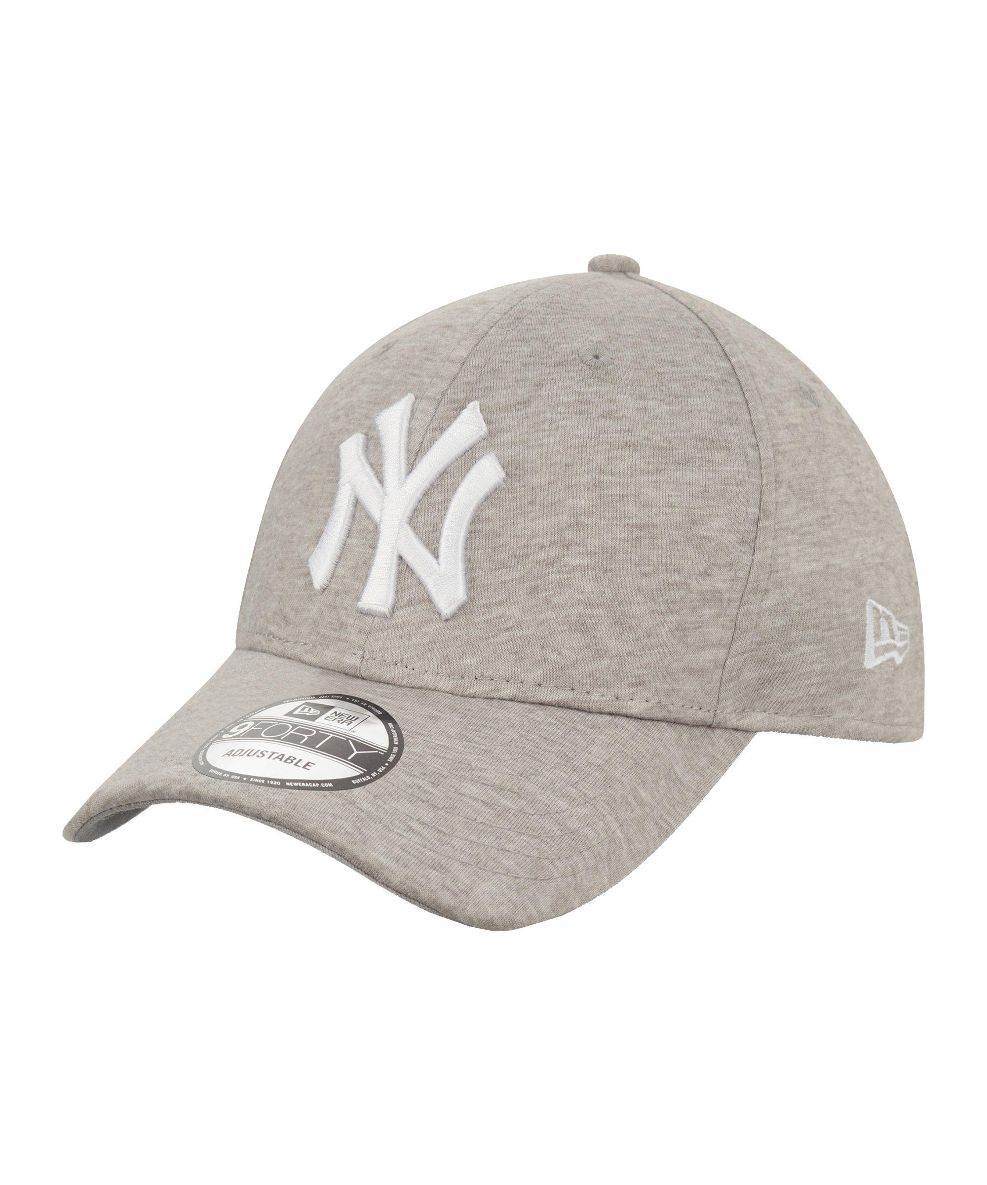 New Era NY Yankees Yersey 9Forty Cap FGRAWHI - grau