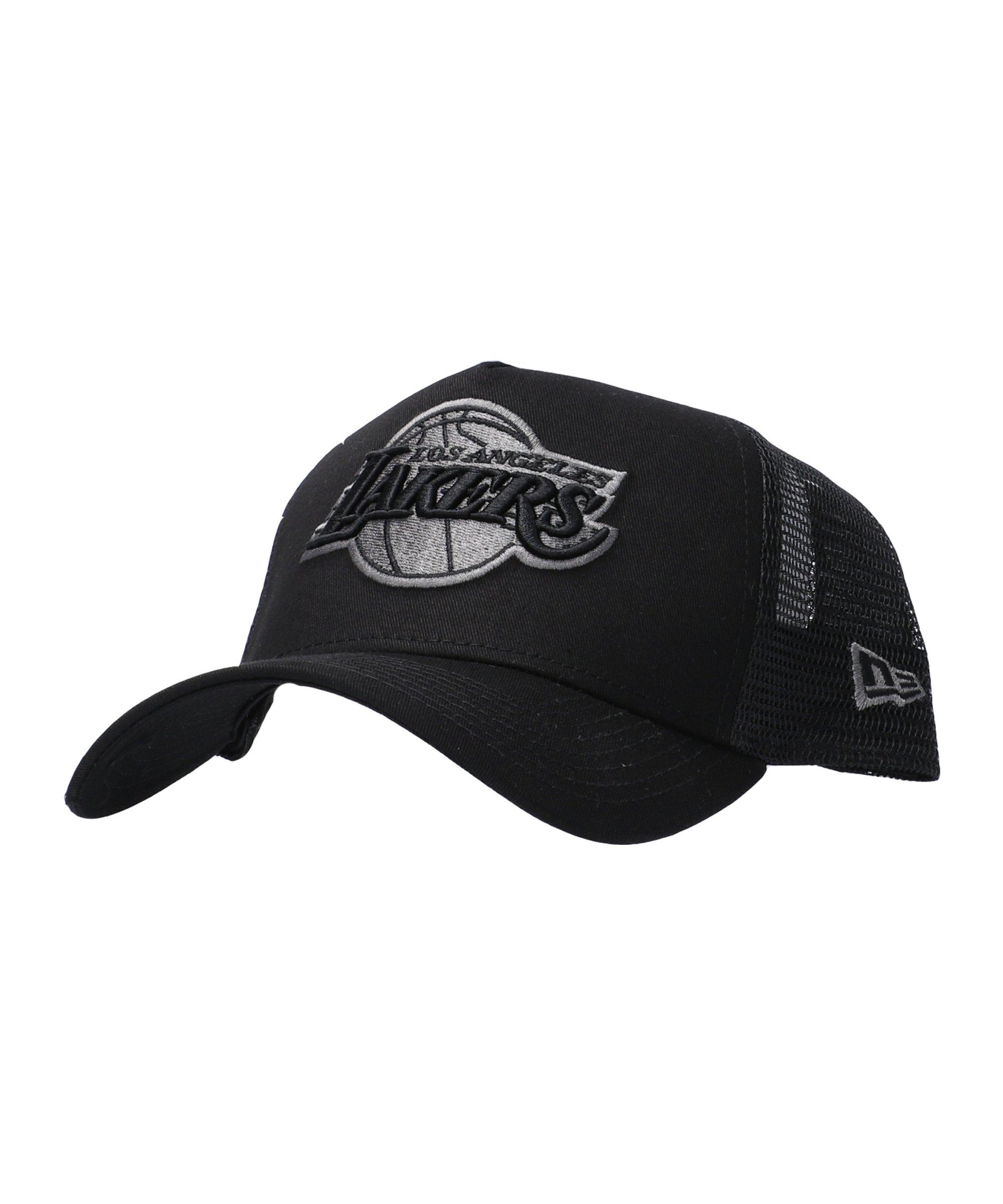 New Era LA Lakers 9Forty Cap Schwarz - schwarz