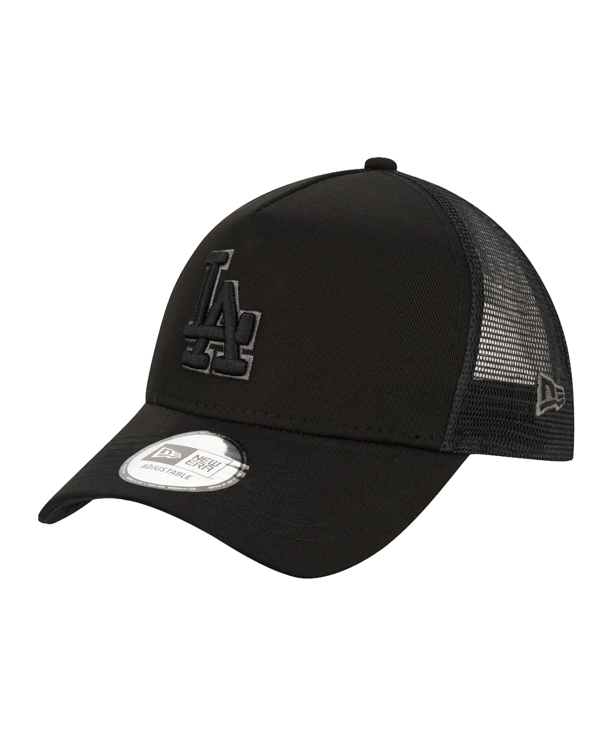 New Era LA Dodgers 940 Trucker Cap Schwarz FBLK - schwarz