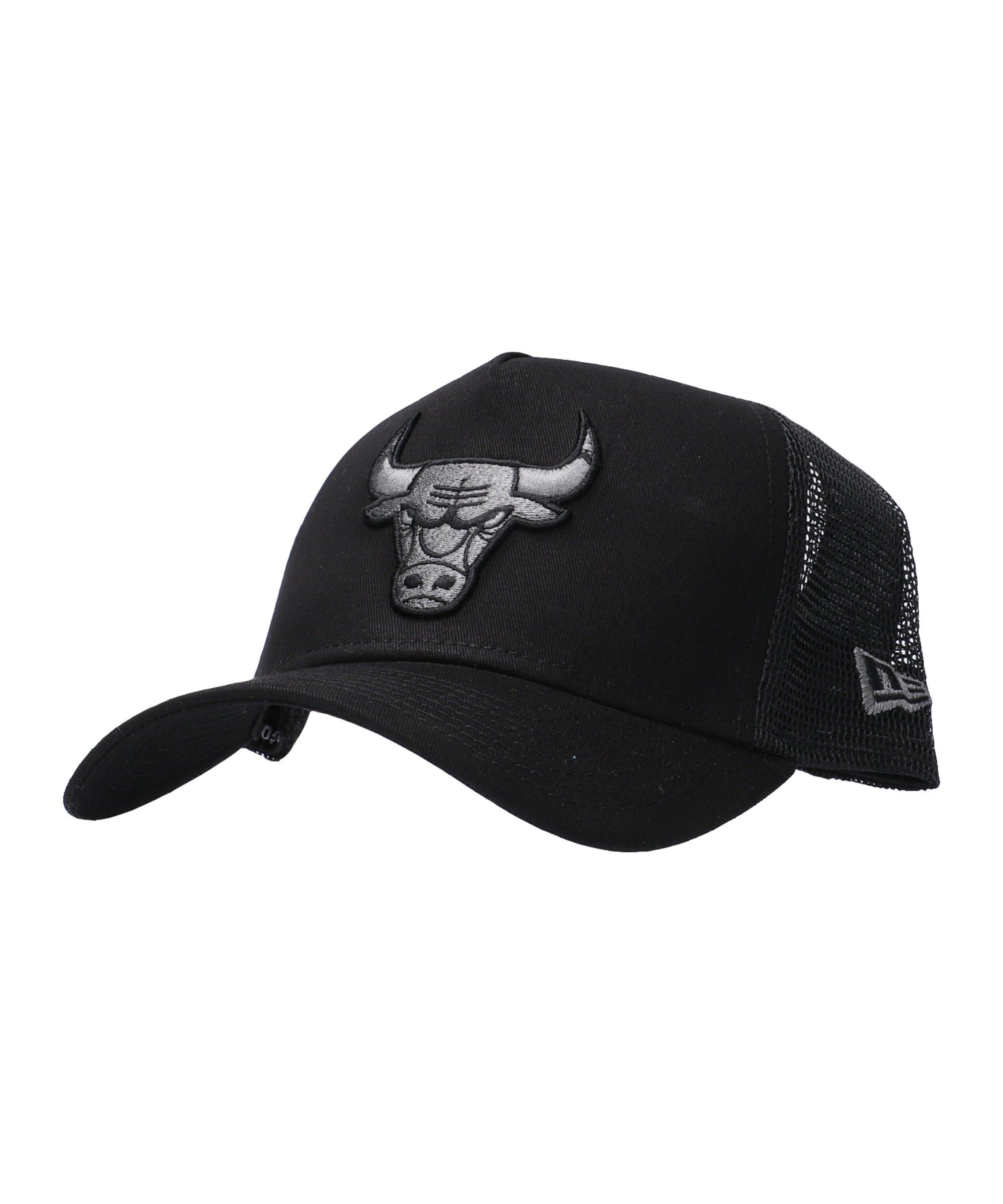 New Era Clean TruckerChicago Bulls Cap Schwarz - schwarz