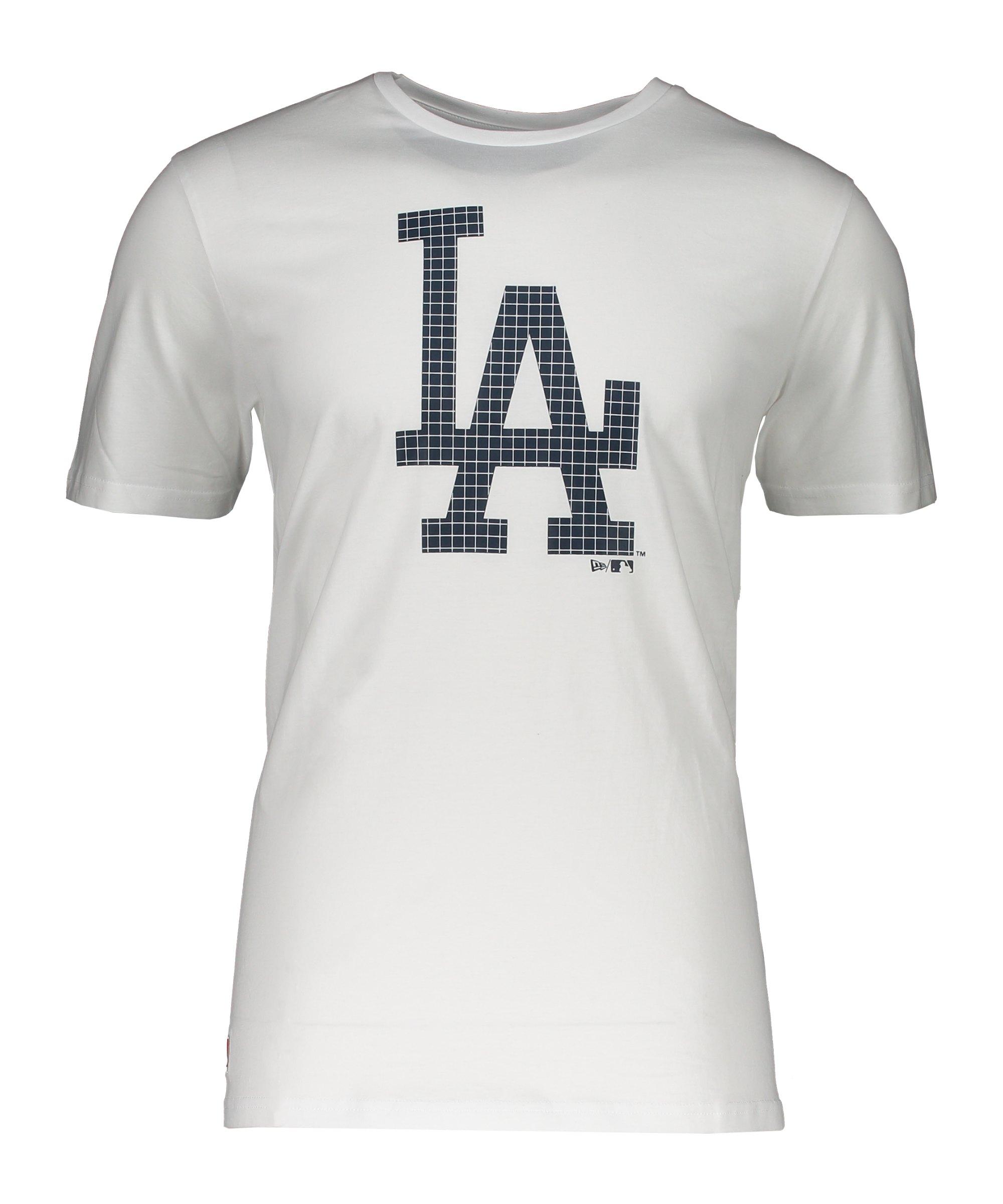 New Era LA Dodgers MLB Infill Team T-Shirt FWHIBLK - weiss
