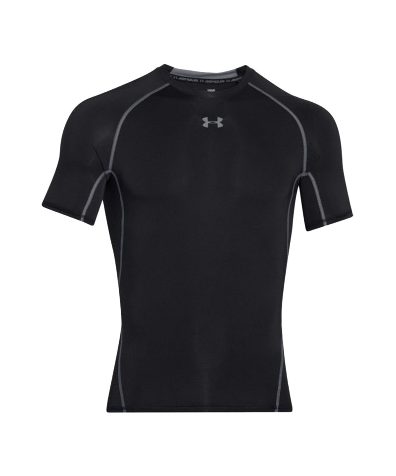 Under Armour Compression T-Shirt Heatgear F001 - schwarz