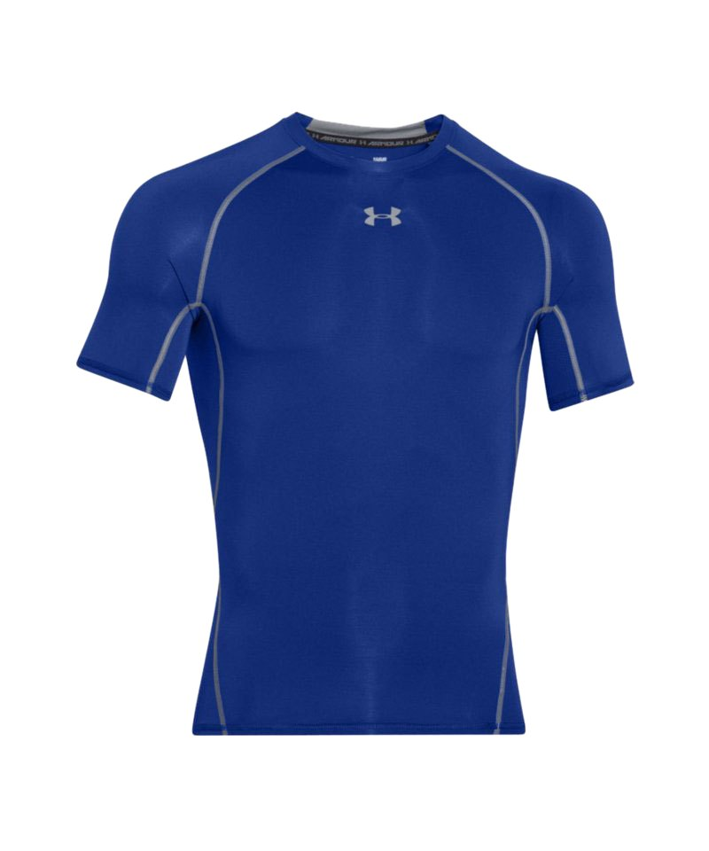 Under Armour Compression T-Shirt Heatgear F400 - blau