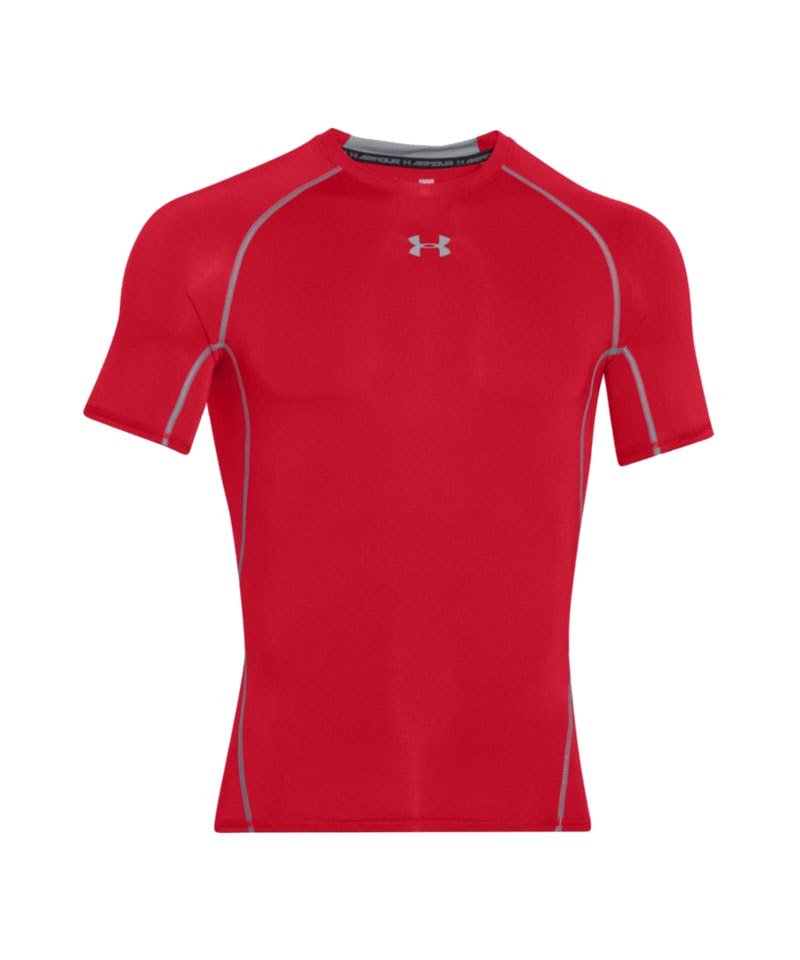 Under Armour Compression T-Shirt Heatgear F600 - rot