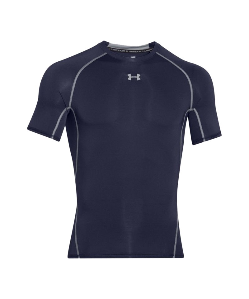 Under Armour T-Shirt Heatgear Compression F410 - blau