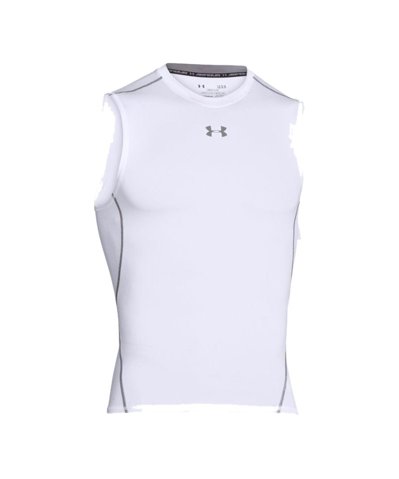Under Compression SL Shirt Armour Heatgear F100 - weiss