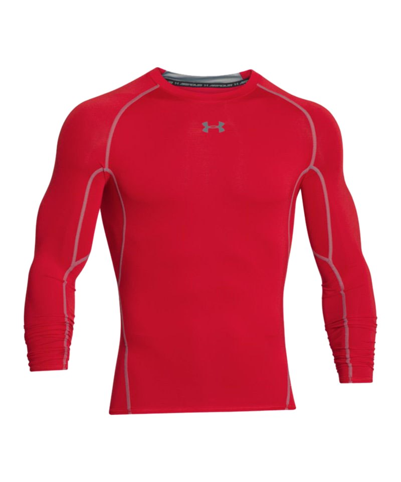 Under Armour LS Shirt Heatgear Compression F600 - rot