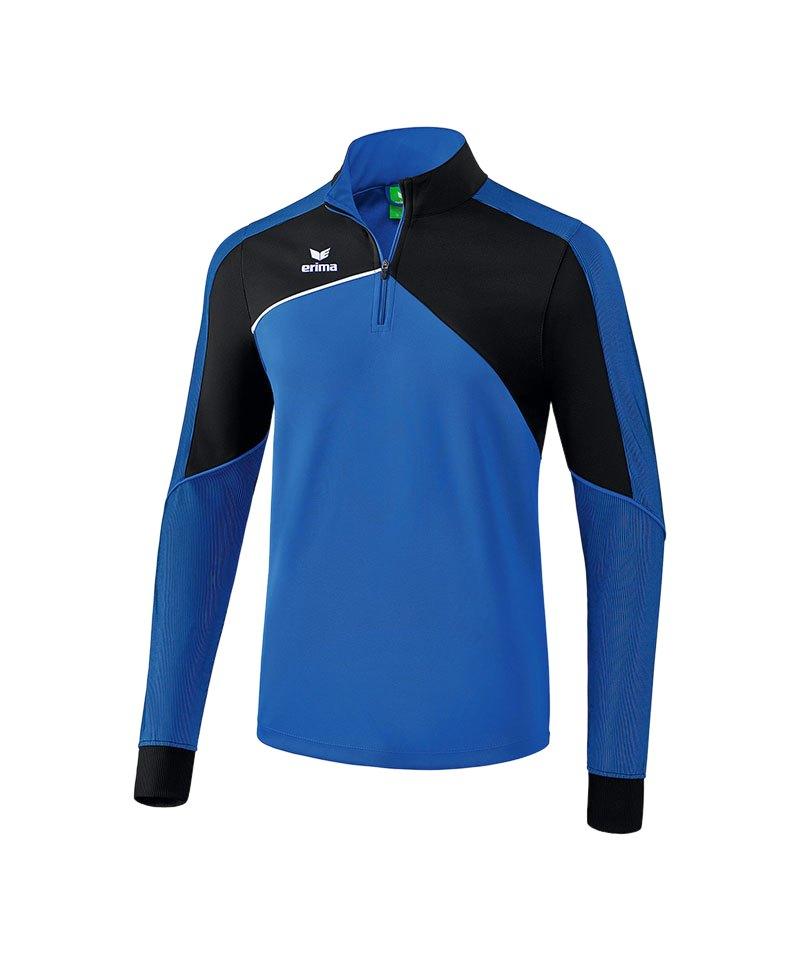 Erima Premium One 2.0 Trainingstop Blau Schwarz - blau