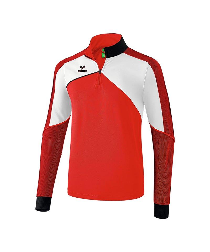 Erima Premium One 2.0 Trainingstop Rot Weiss - rot